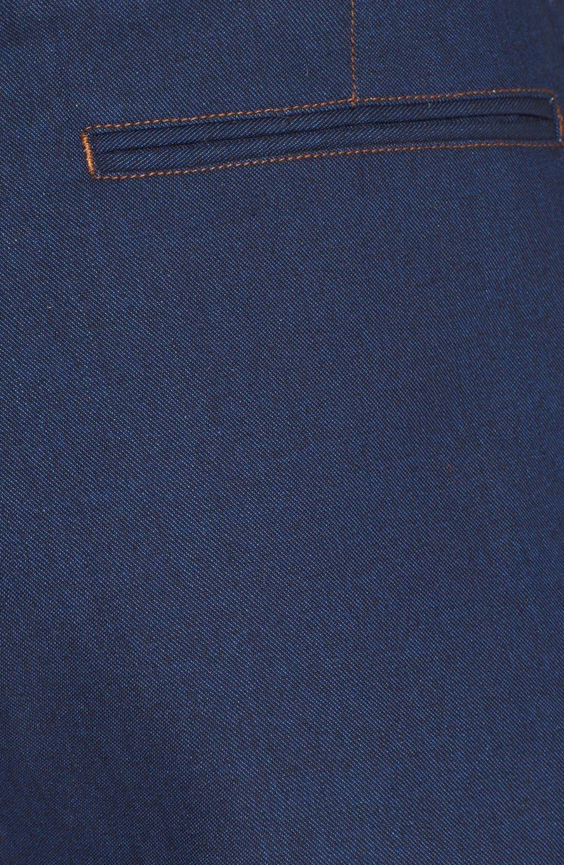'Branson' High Waist Denim Shorts,                             Alternate thumbnail 3, color,                             417