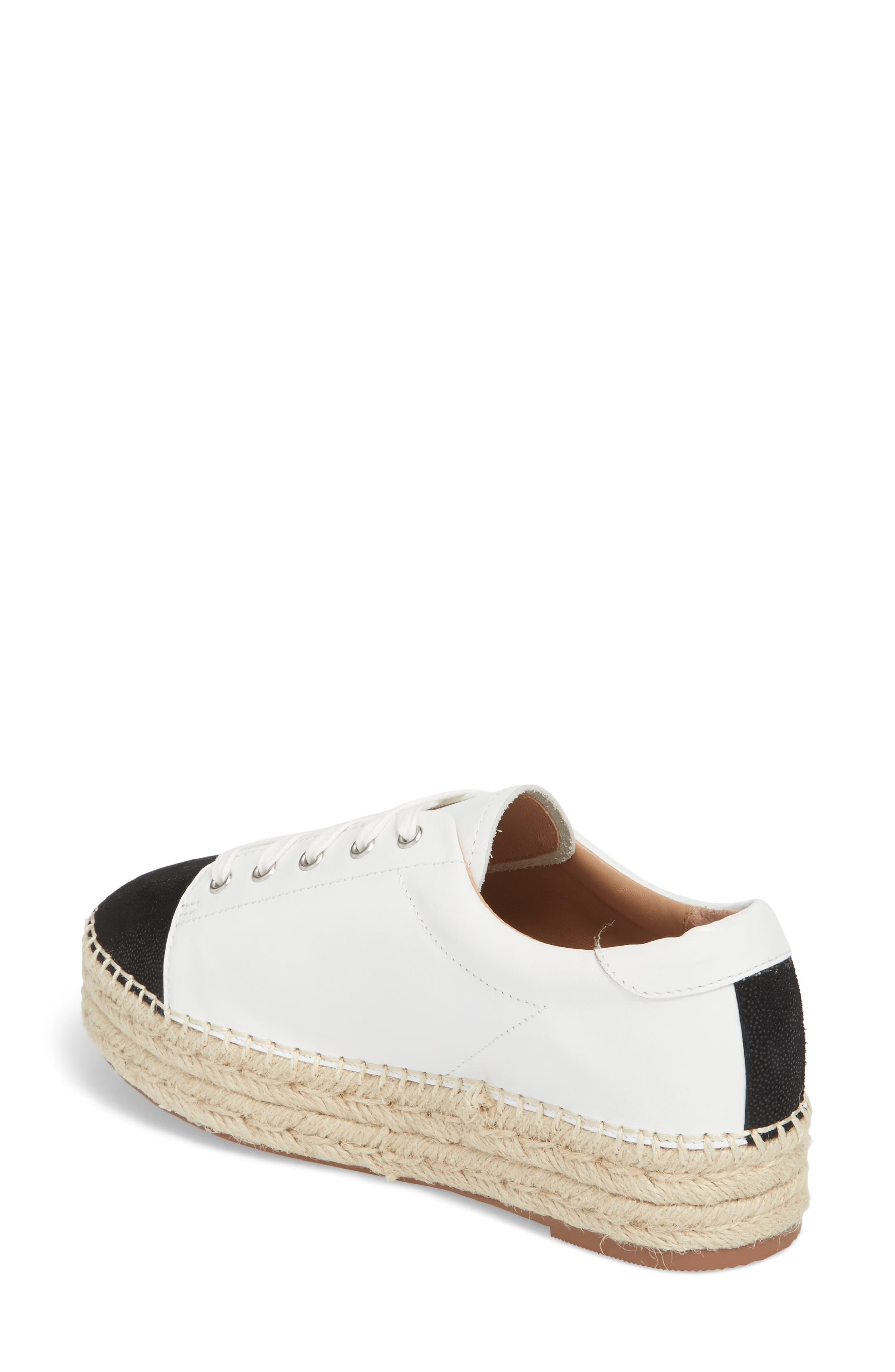 Sierra Espadrille Platform Sneaker,                             Alternate thumbnail 2, color,                             108