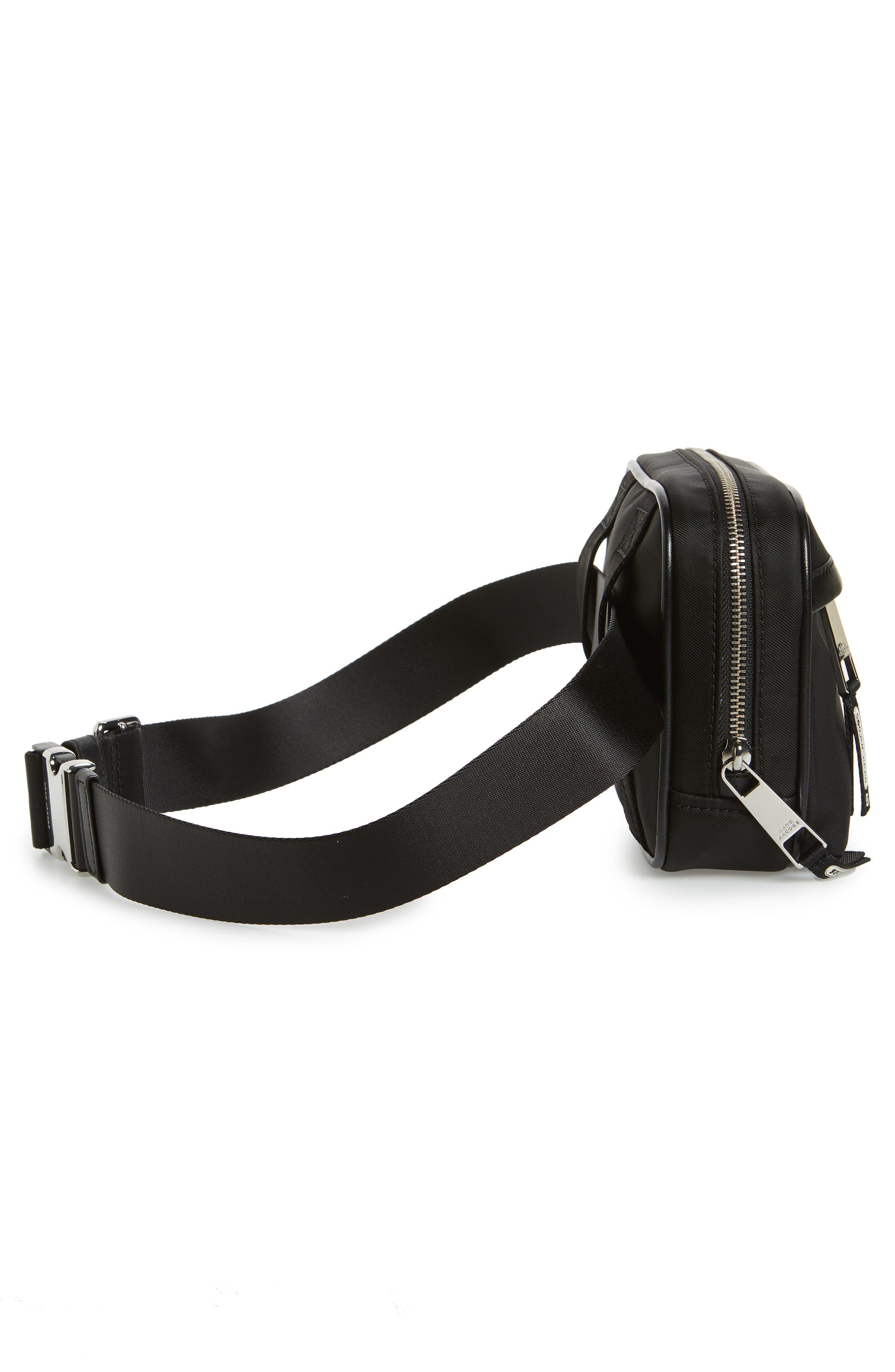 Sport Belt Bag,                             Alternate thumbnail 6, color,                             BLACK