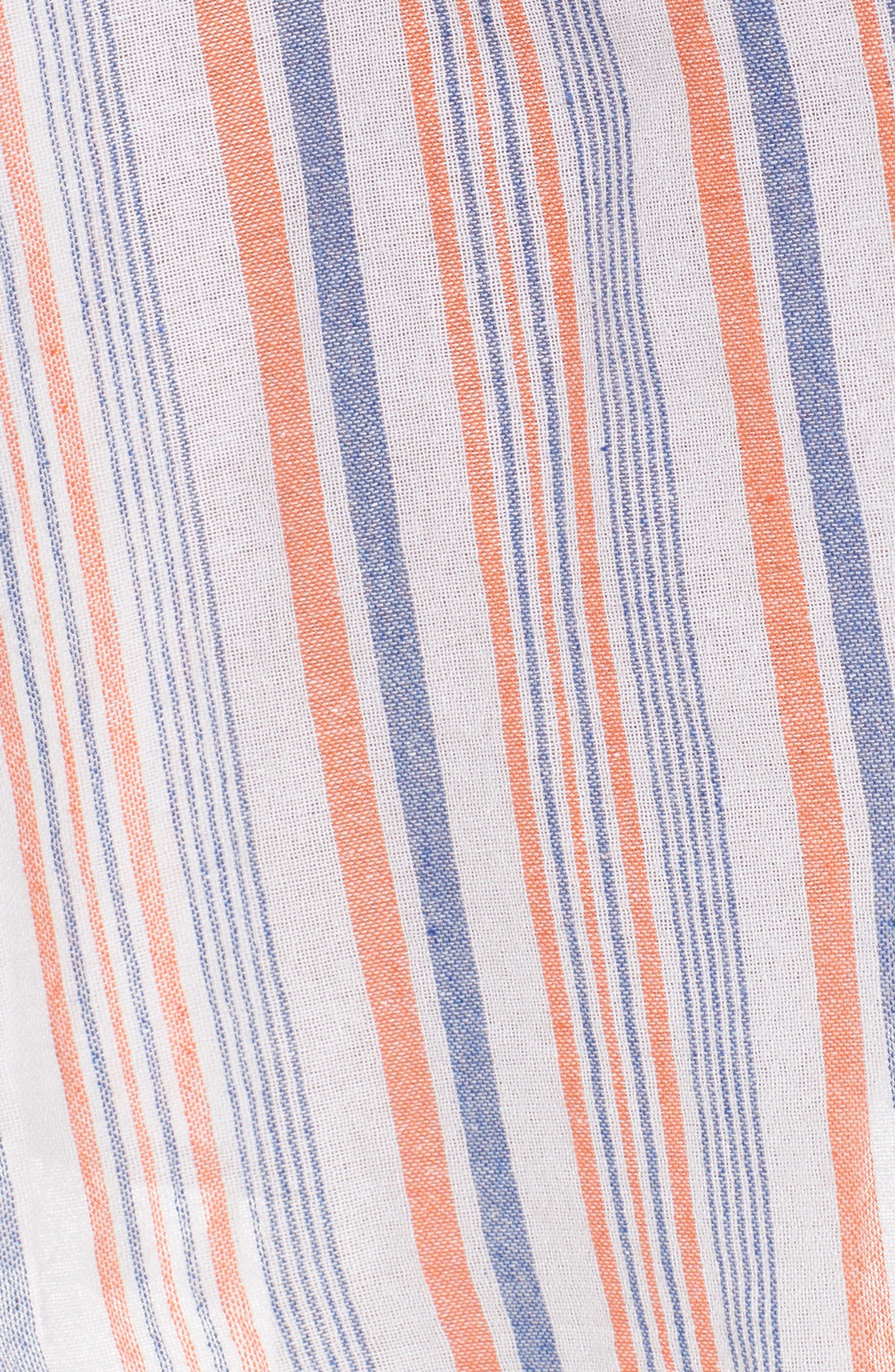 Stripe Halter Dress,                             Alternate thumbnail 5, color,                             951