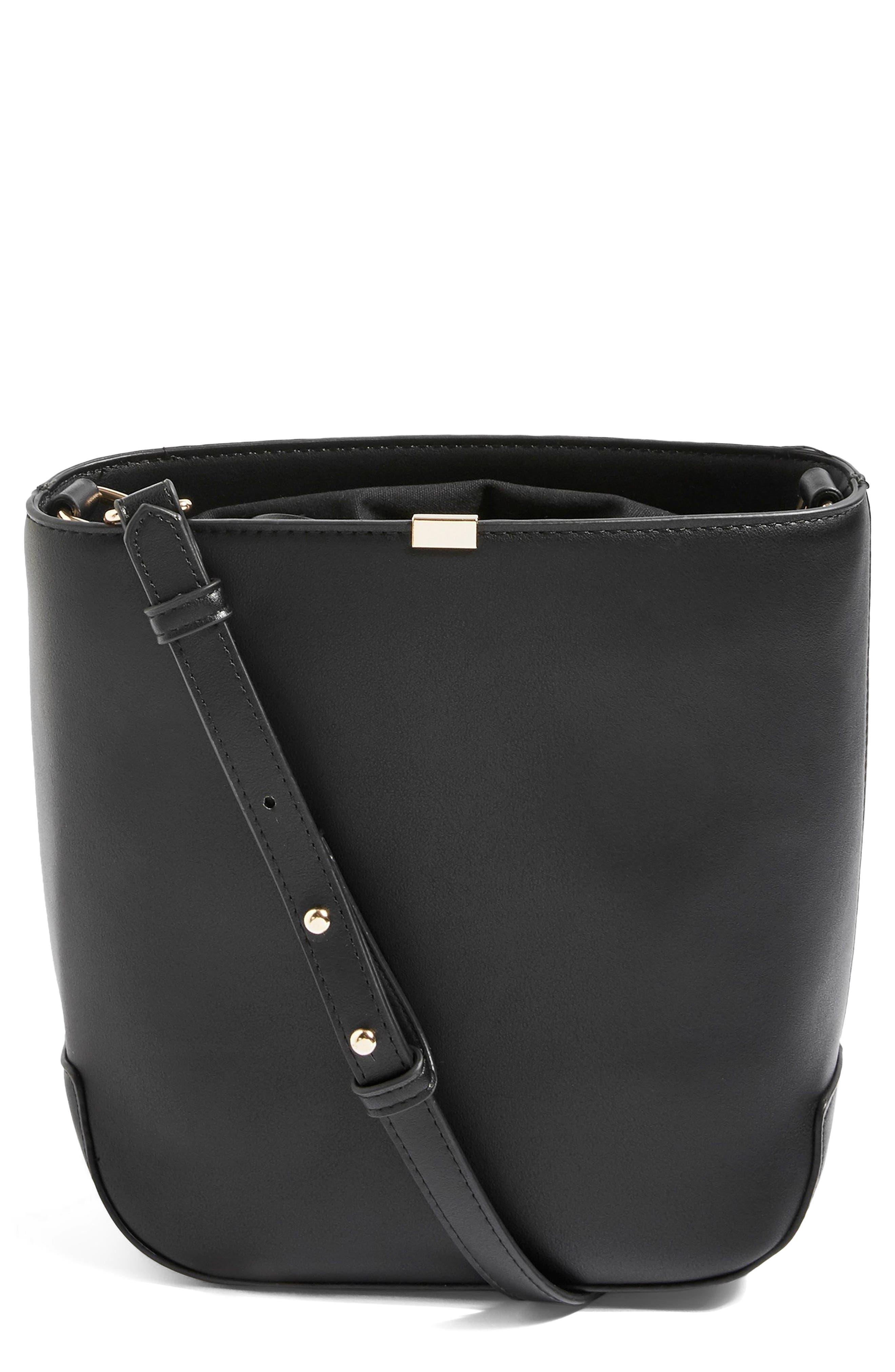Romy Bucket Shoulder Handbag,                         Main,                         color, 001