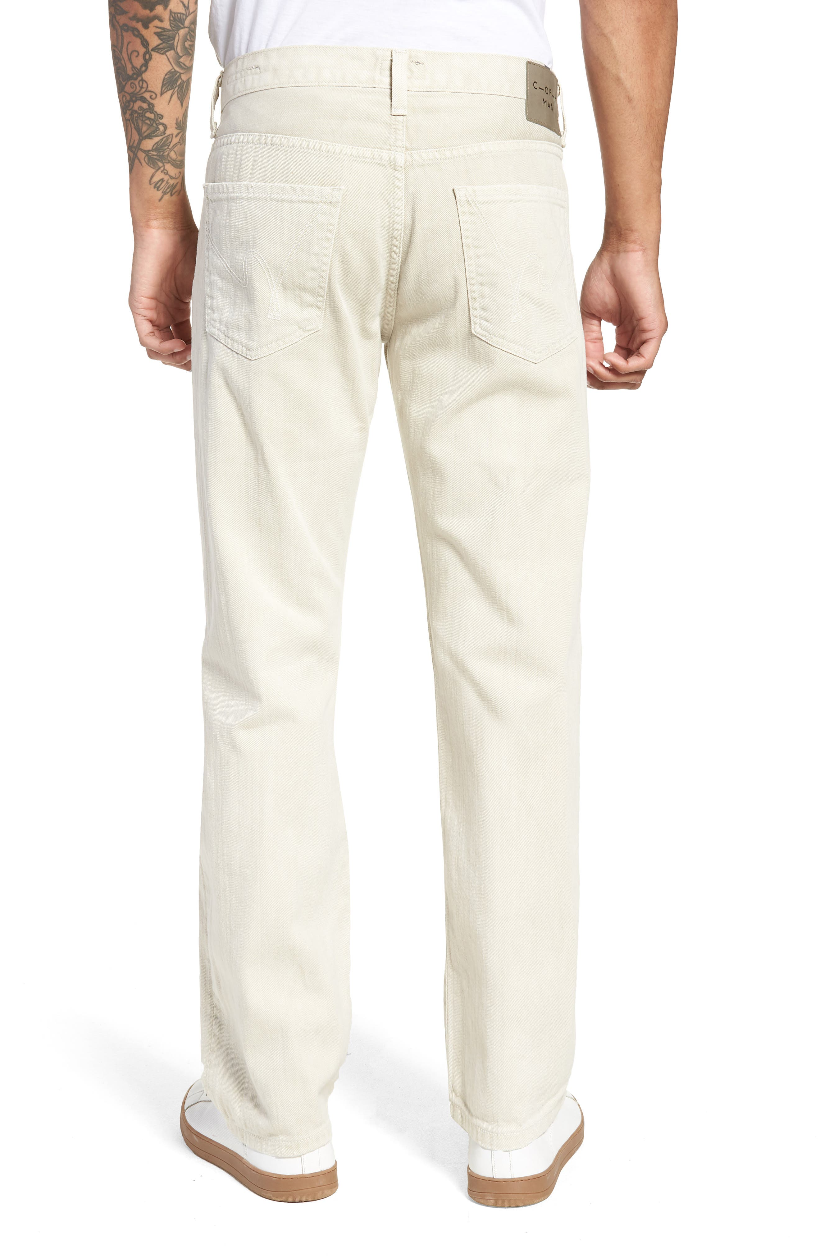 Sid Straight Fit Jeans,                             Alternate thumbnail 2, color,                             FORT