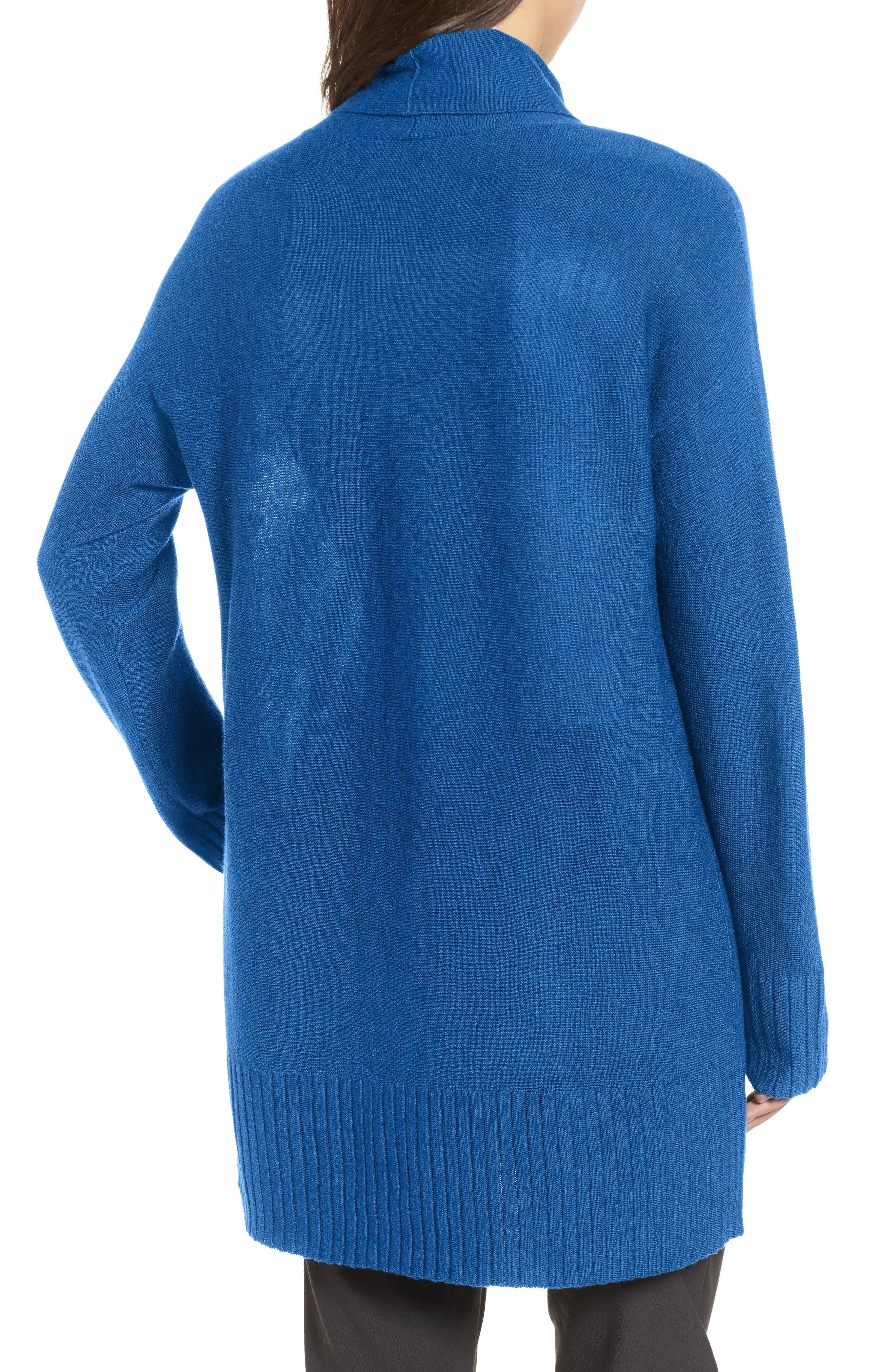 Merino Wool Tunic Sweater,                             Alternate thumbnail 6, color,