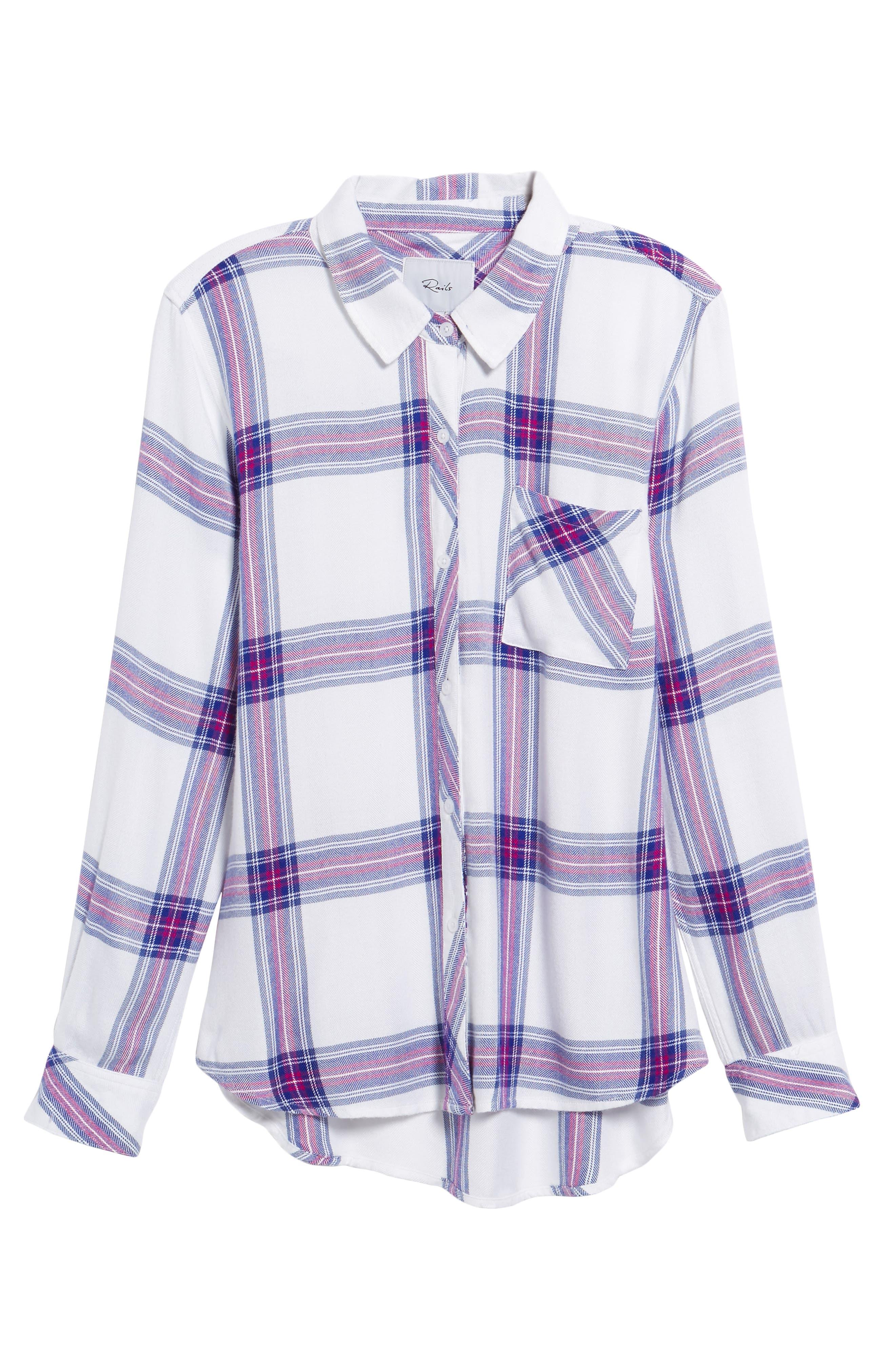 Hunter Plaid Shirt,                             Alternate thumbnail 708, color,