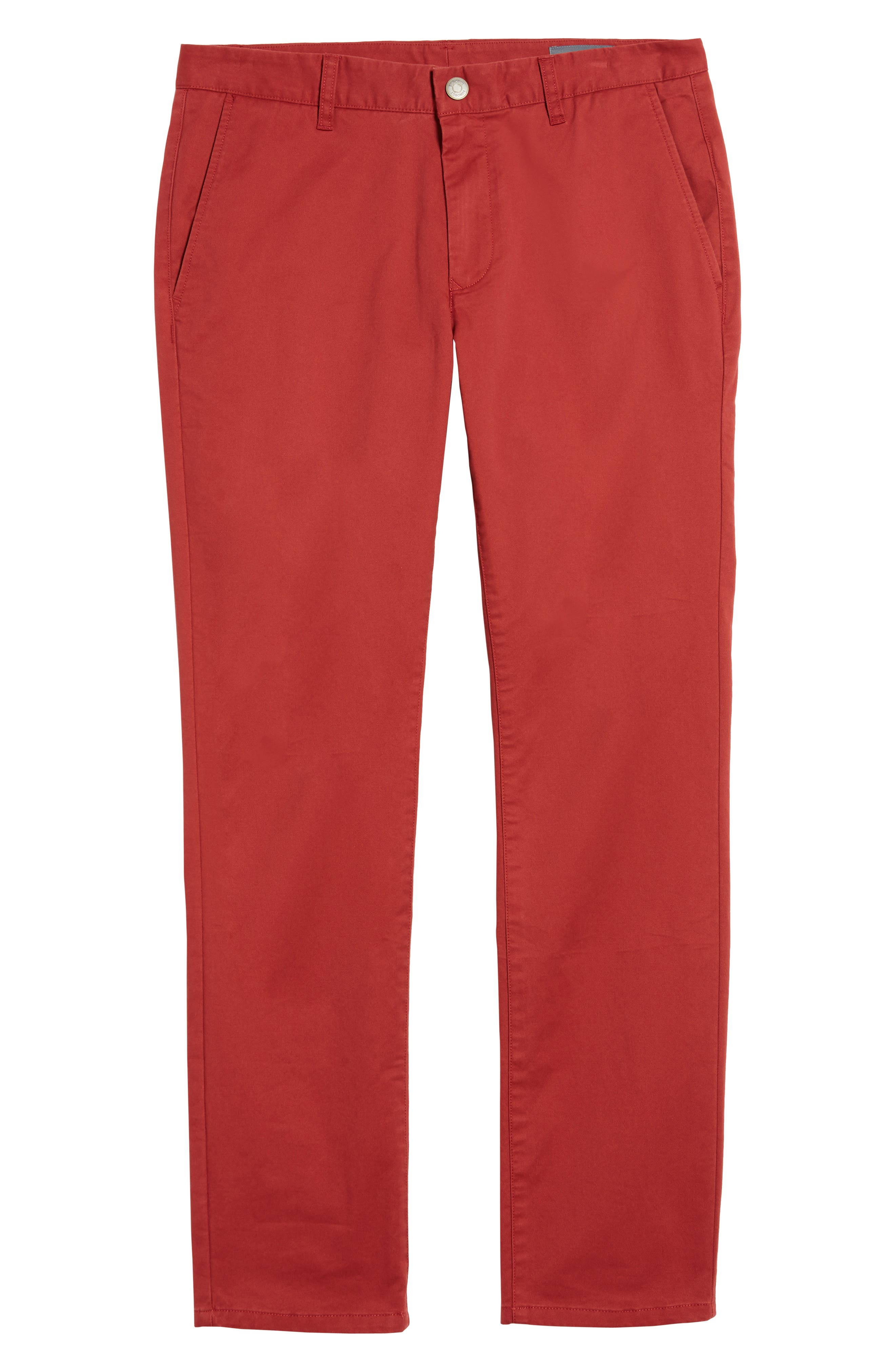 Tailored Fit Washed Stretch Cotton Chinos,                             Alternate thumbnail 201, color,