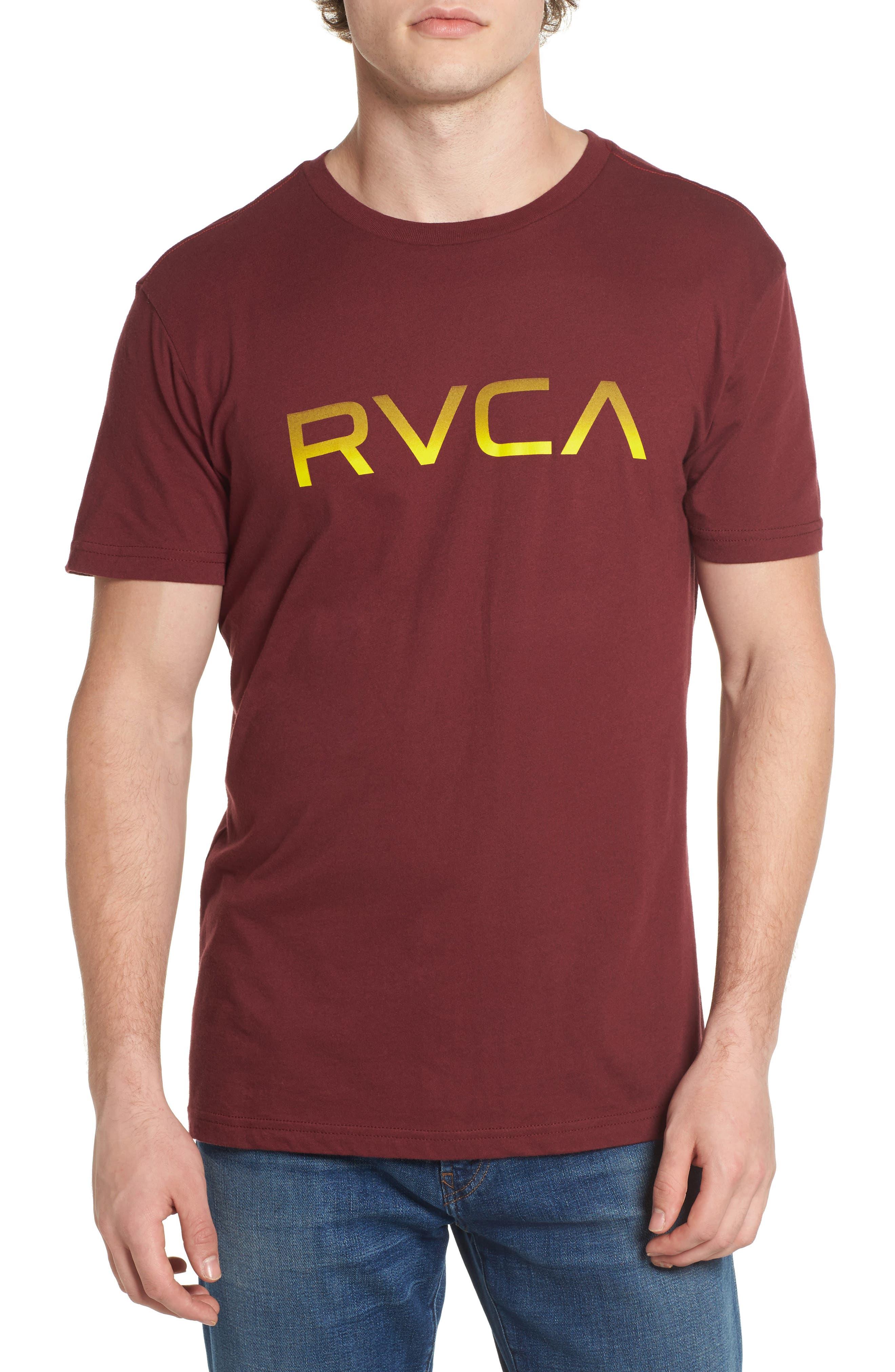 Big RVCA Gradient Logo T-Shirt,                             Main thumbnail 2, color,