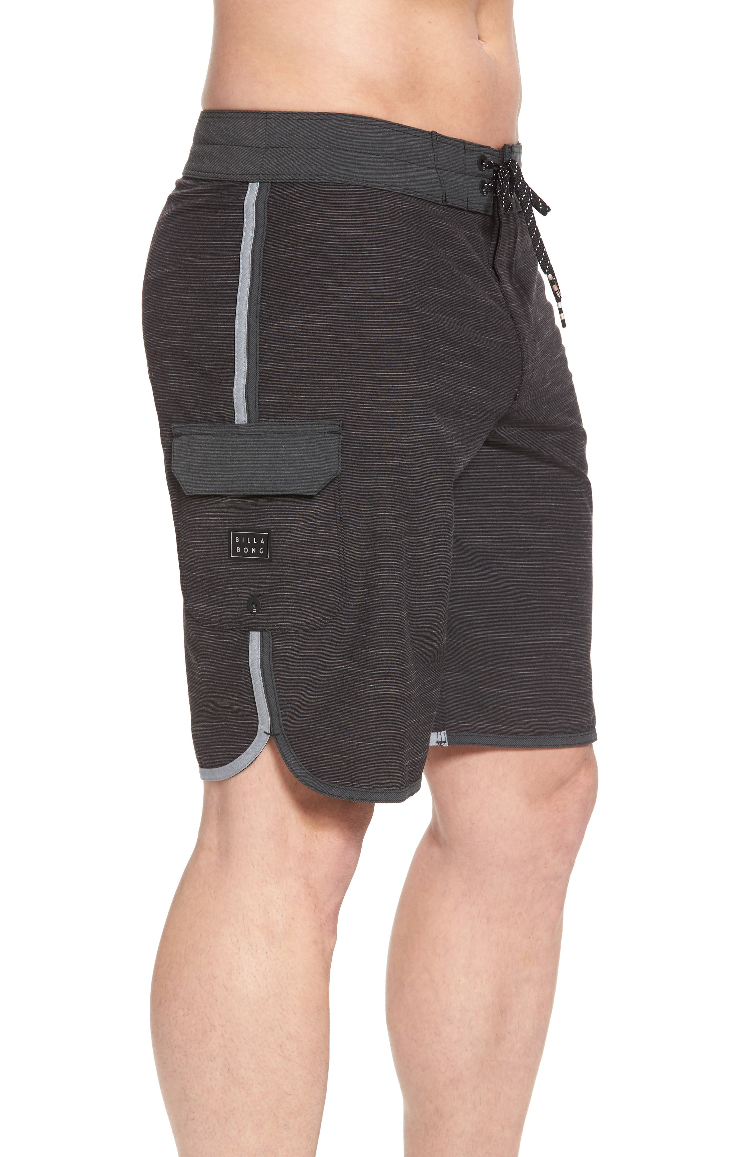 73 X Short Board Shorts,                             Alternate thumbnail 3, color,                             001
