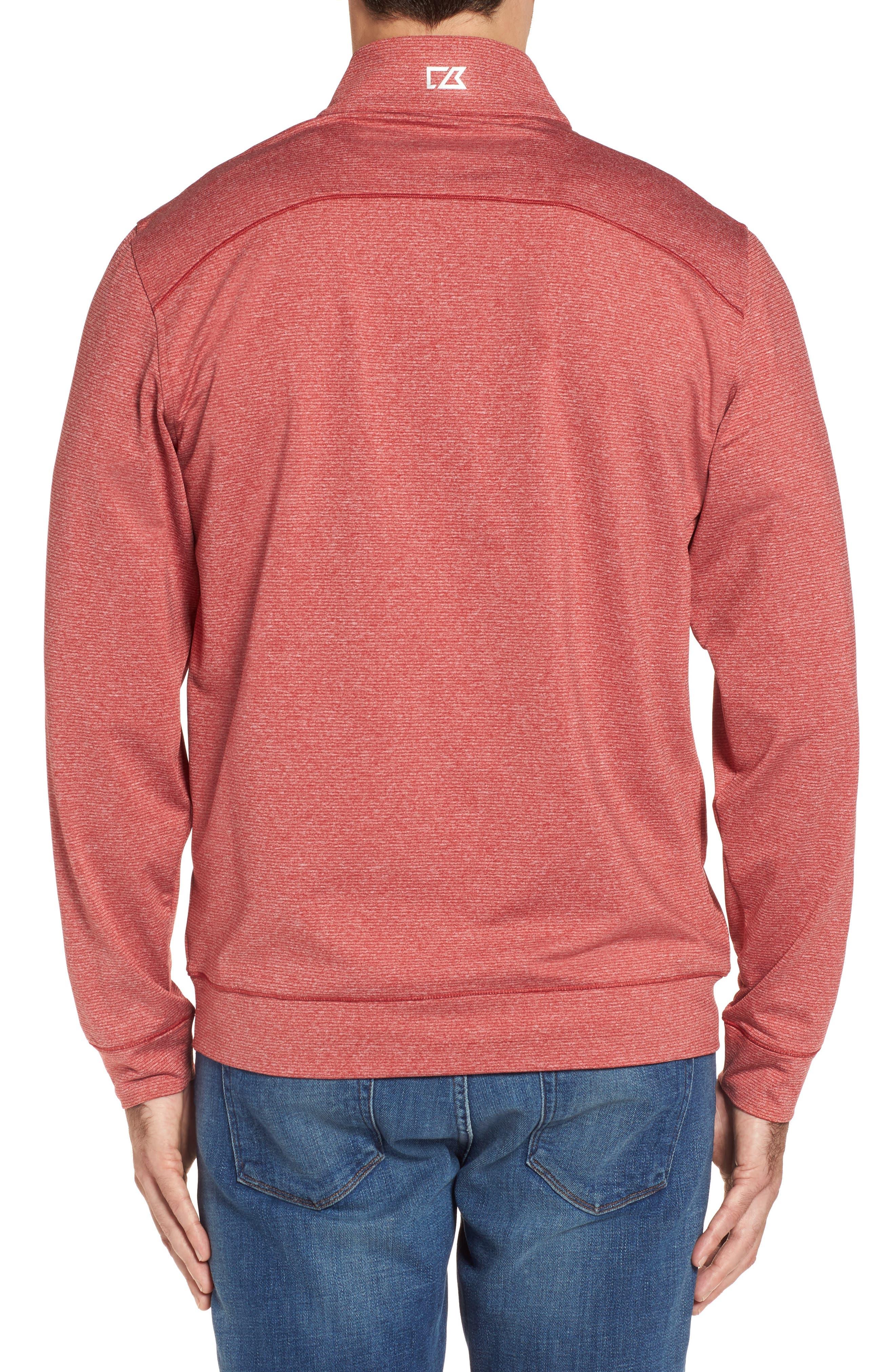 Shoreline - Arizona Cardinals Half Zip Pullover,                             Alternate thumbnail 2, color,