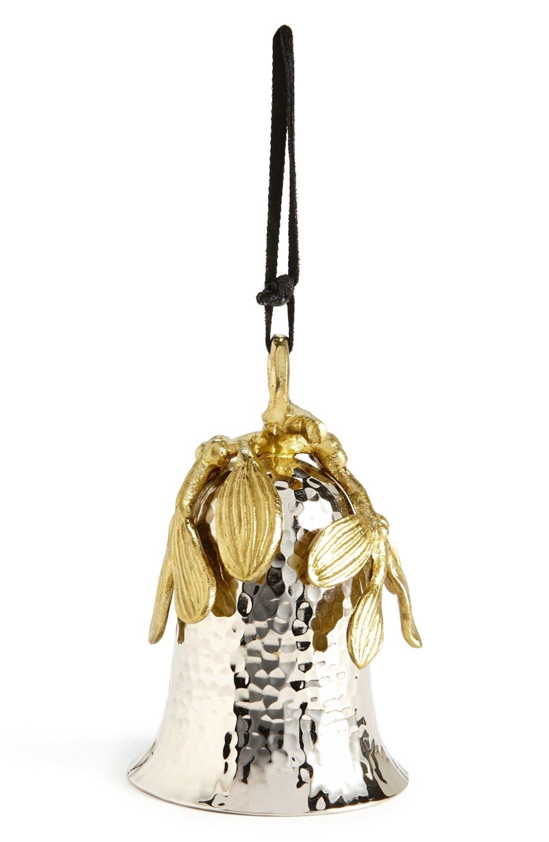 'Mistletoe Bell' Ornament,                         Main,                         color, 710