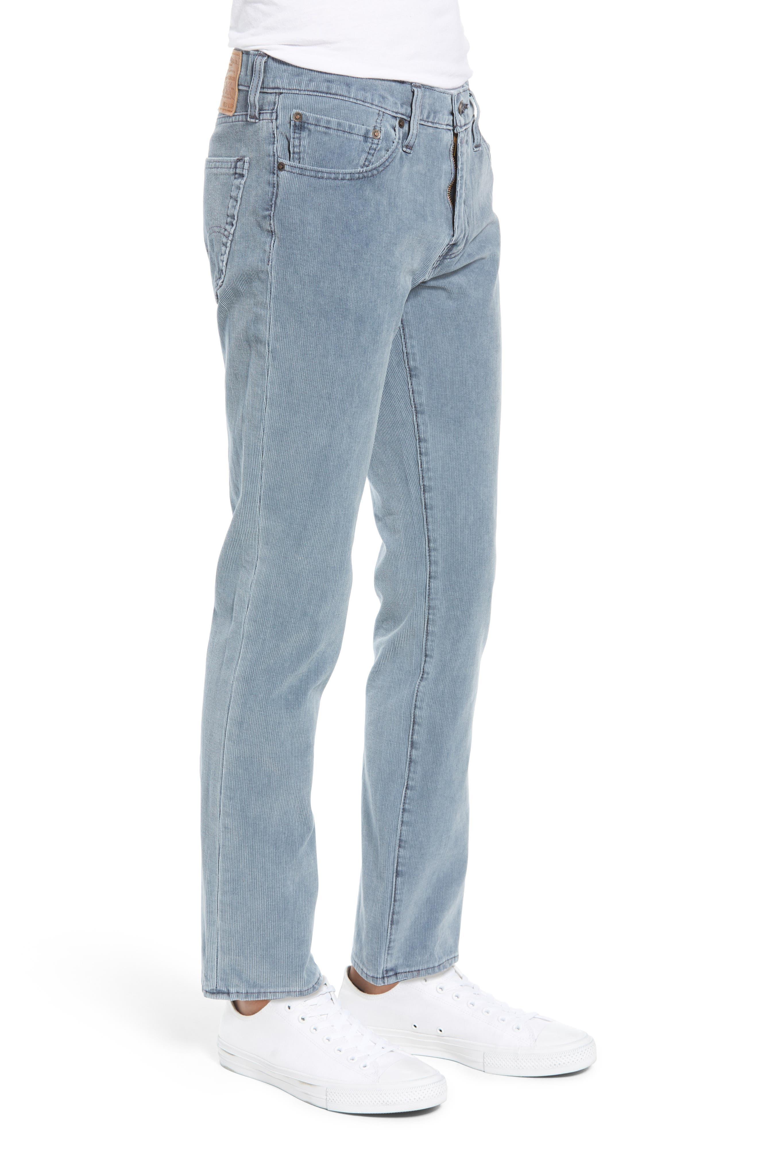 511<sup>™</sup> Slim Fit Corduroy Jeans,                             Alternate thumbnail 3, color,                             OMBRE BLUE WARP CORDUROY