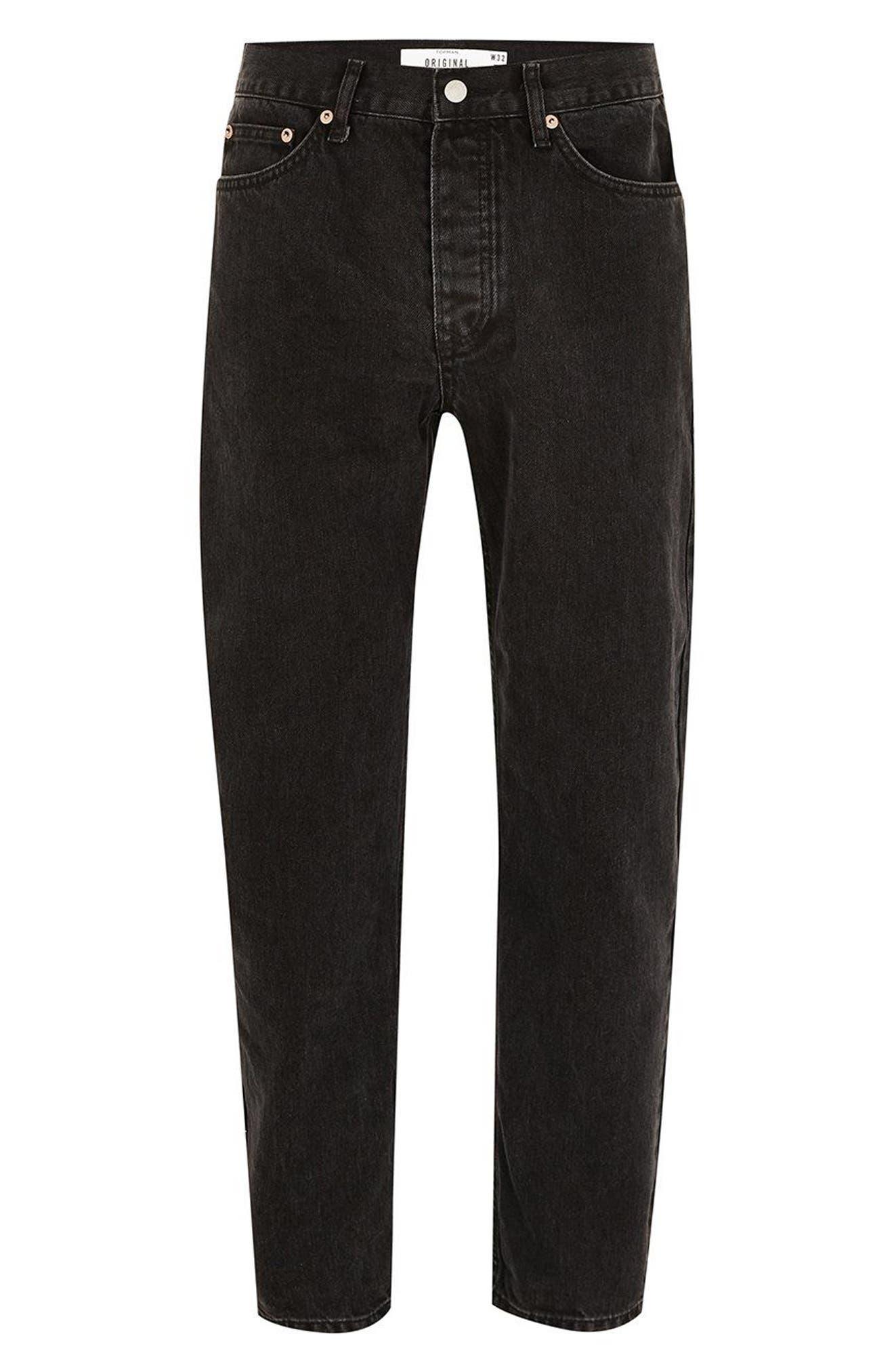 Original Fit Jeans,                             Alternate thumbnail 3, color,                             001