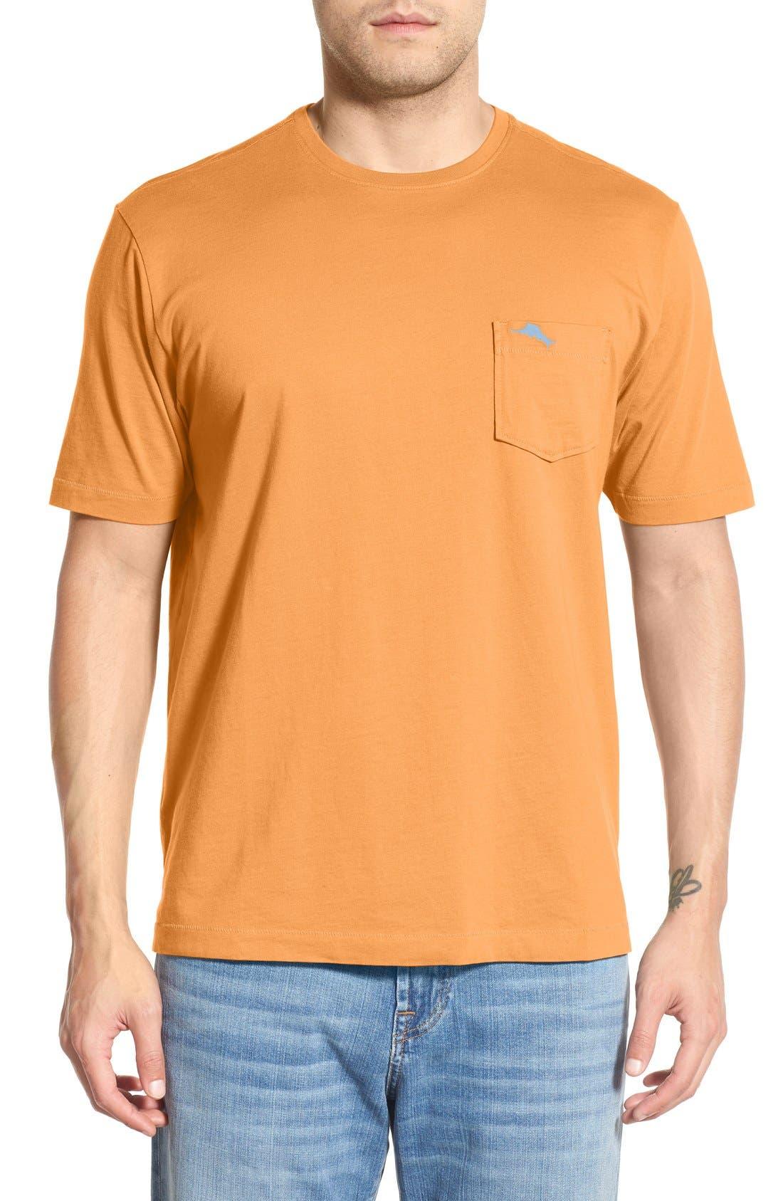 New Bali Sky Pima Cotton Pocket T-Shirt,                             Main thumbnail 59, color,