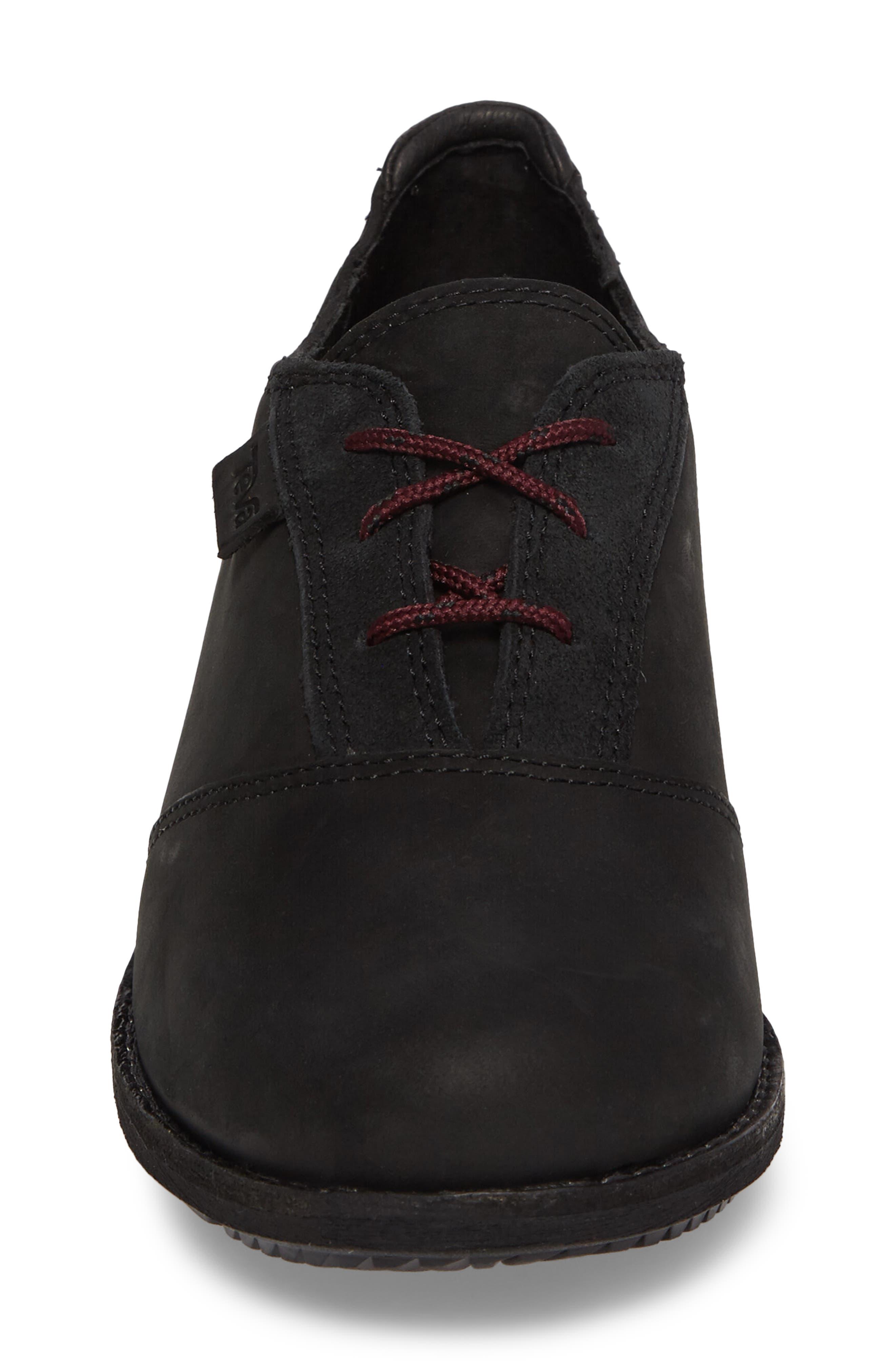 De La Vina Dos Waterproof Sneaker,                             Alternate thumbnail 4, color,                             001