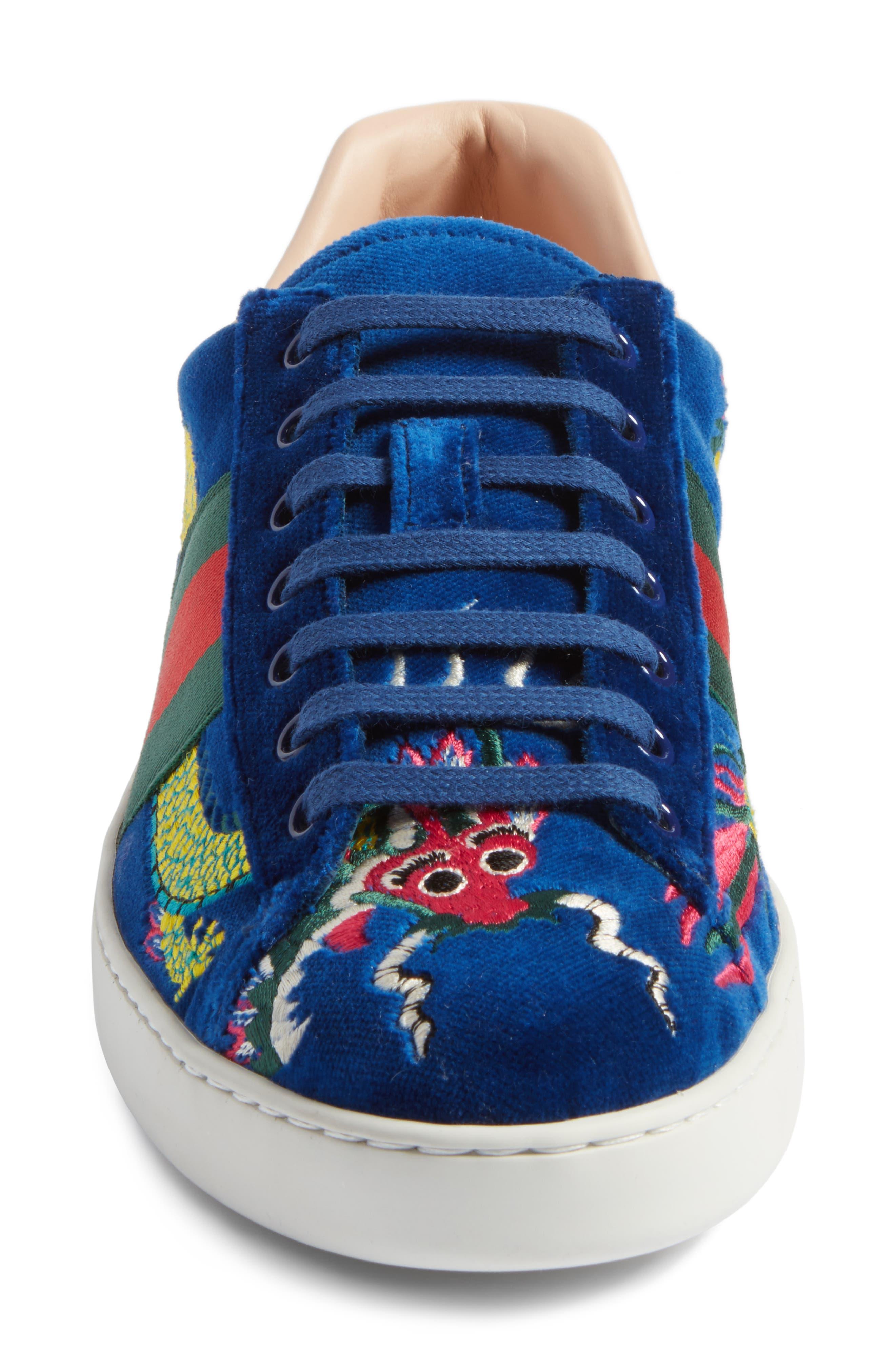 New Ace Dragon Sneaker,                             Alternate thumbnail 4, color,                             493