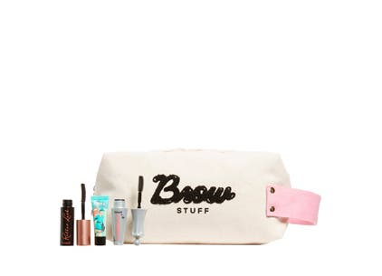 Benefit Cosmetics gift with purchase.