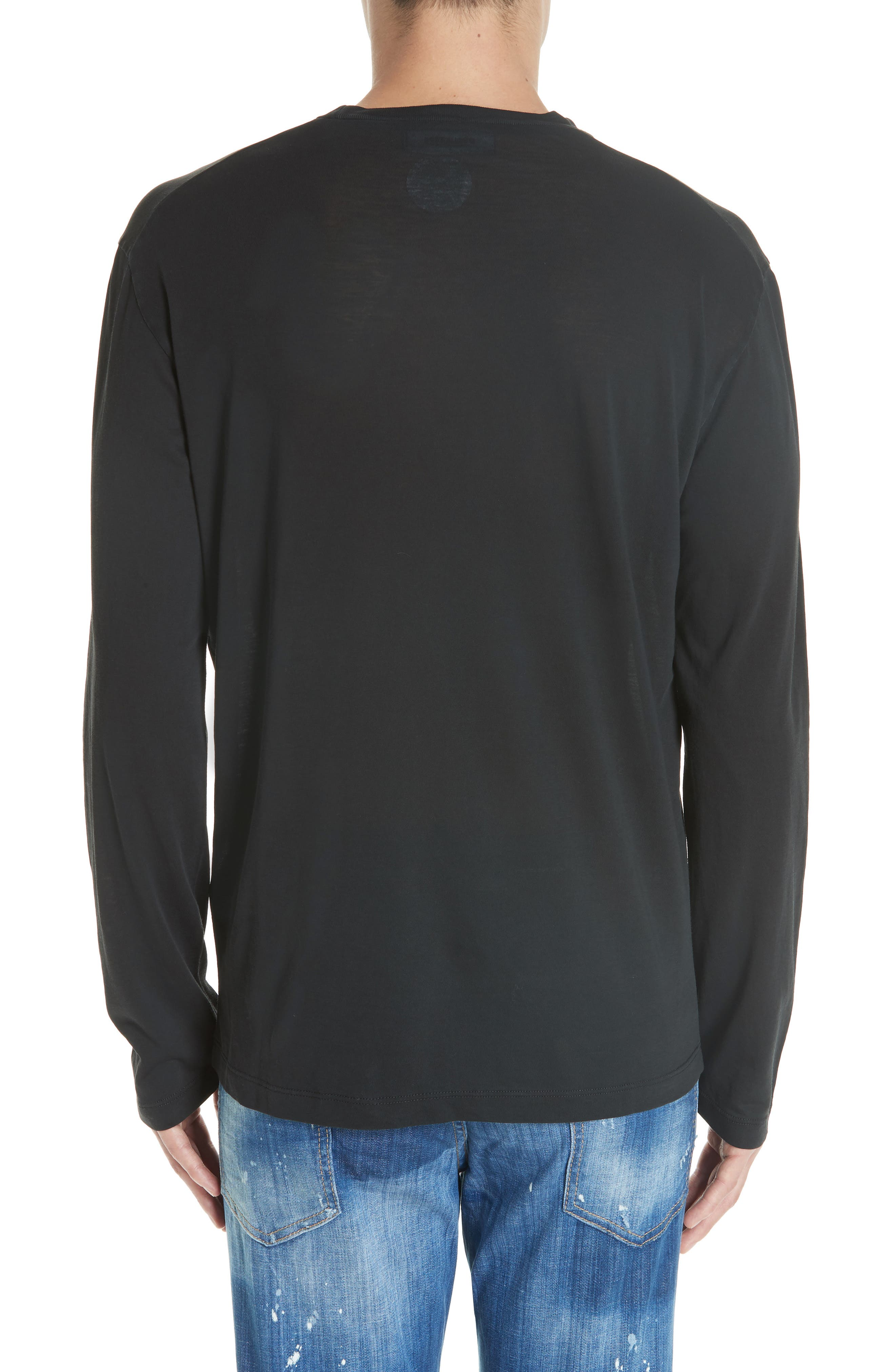 Rated R Graphic Long Sleeve T-Shirt,                             Alternate thumbnail 2, color,                             001