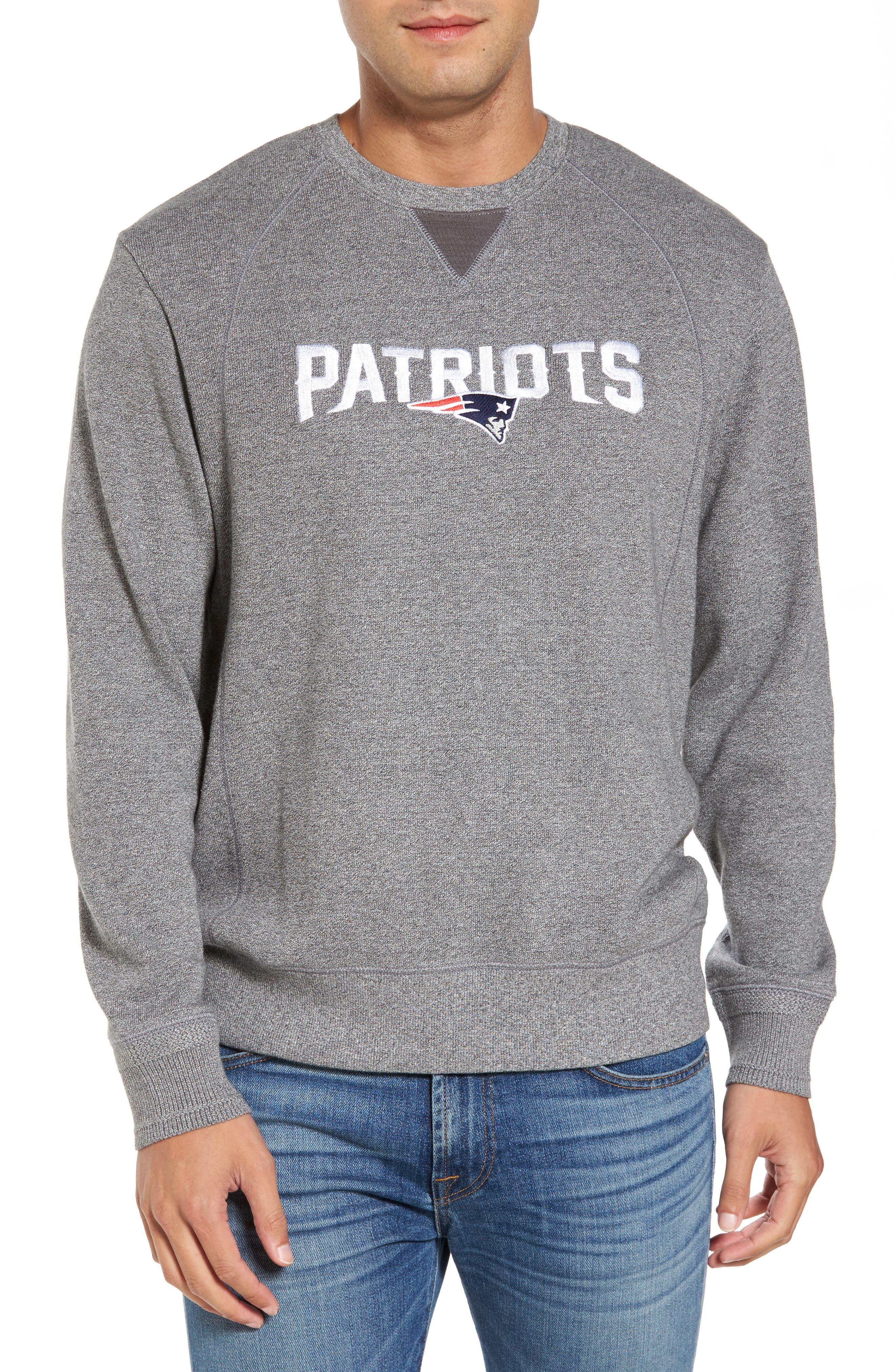 NFL Stitch of Liberty Embroidered Crewneck Sweatshirt,                             Main thumbnail 22, color,