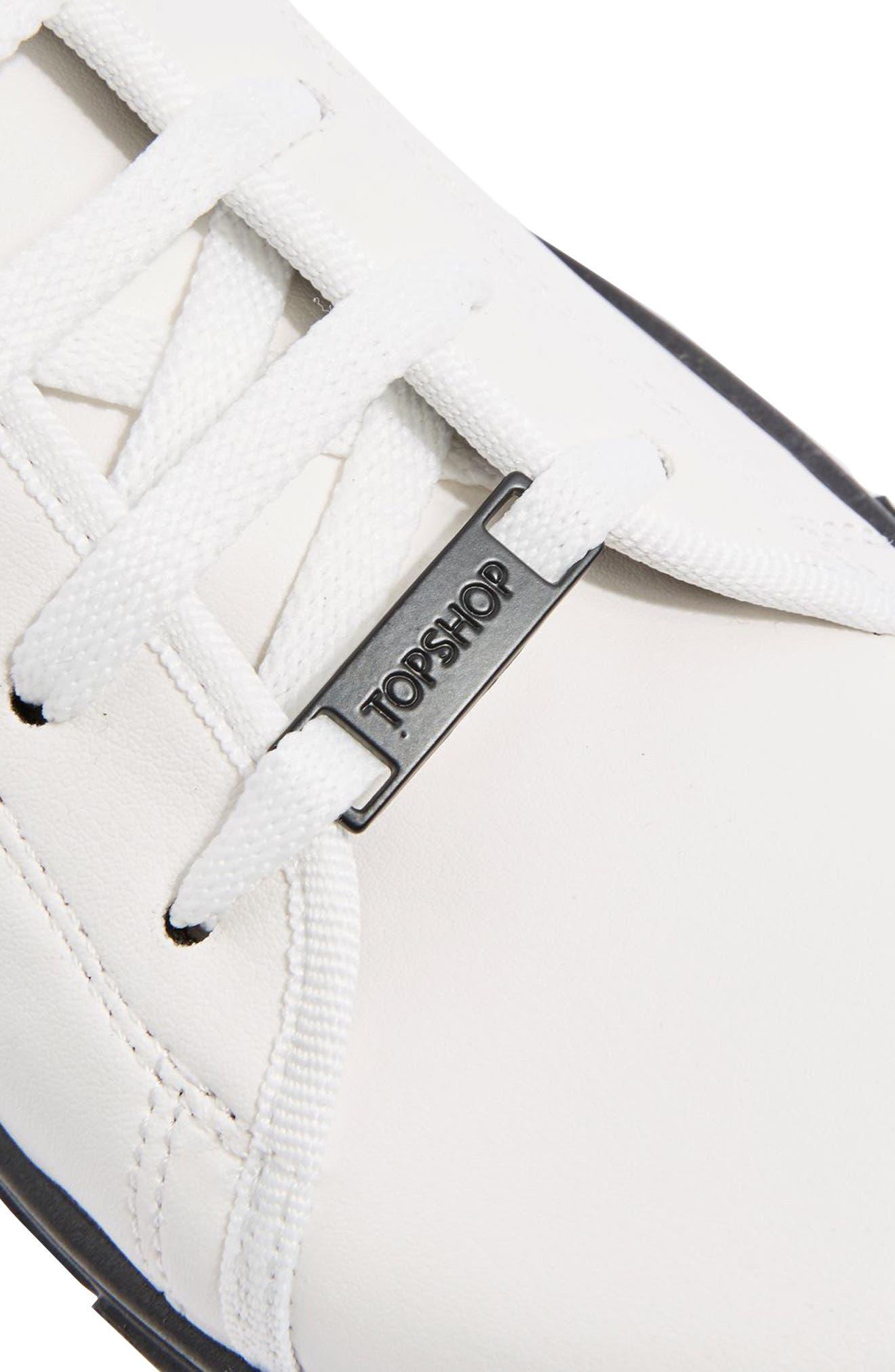 Crush Waterproof Contrast Sole Sneaker,                             Alternate thumbnail 3, color,                             001