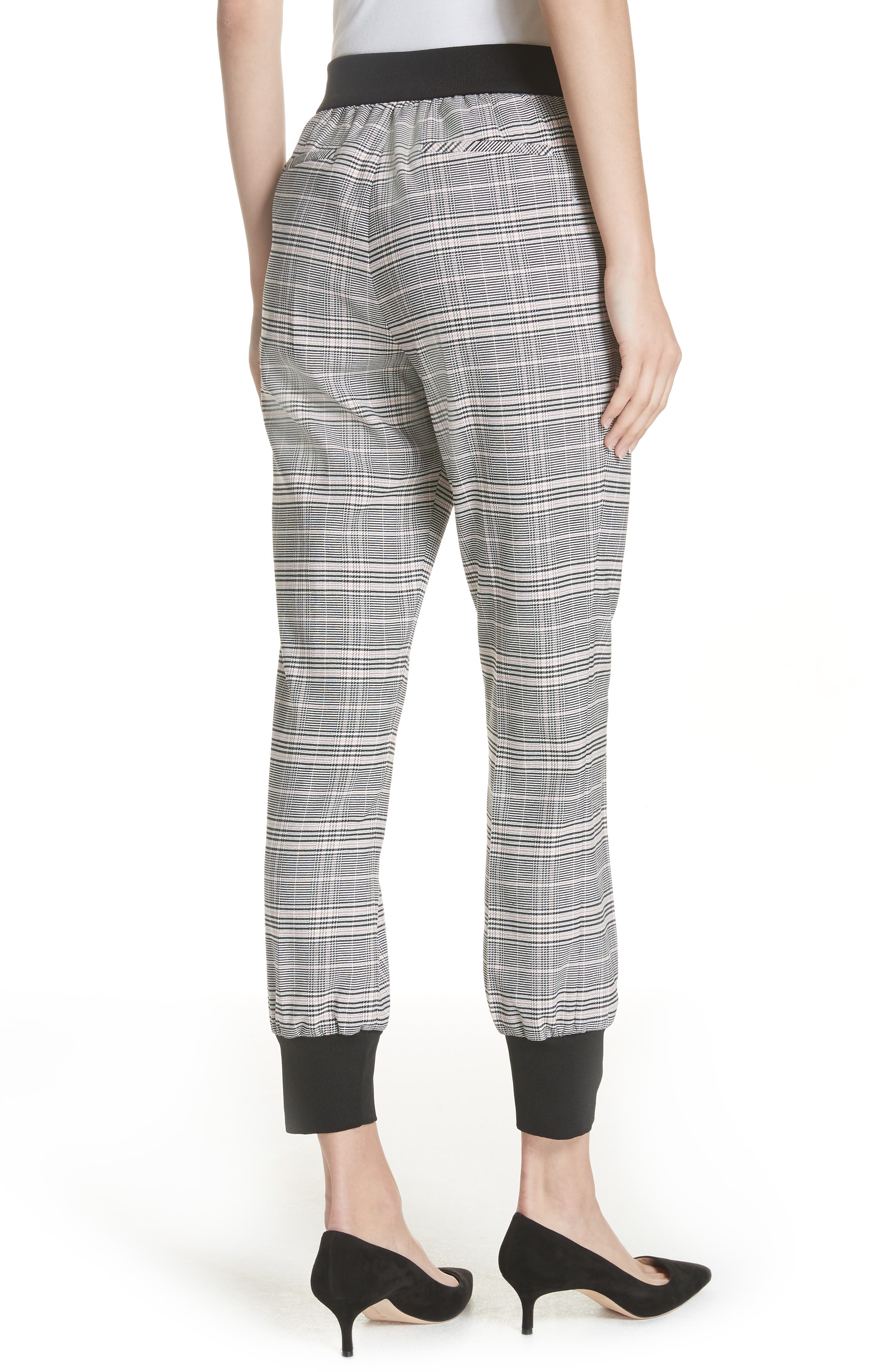 Ted Working Title Kimmt Check Plaid Trousers,                             Alternate thumbnail 2, color,                             GREY