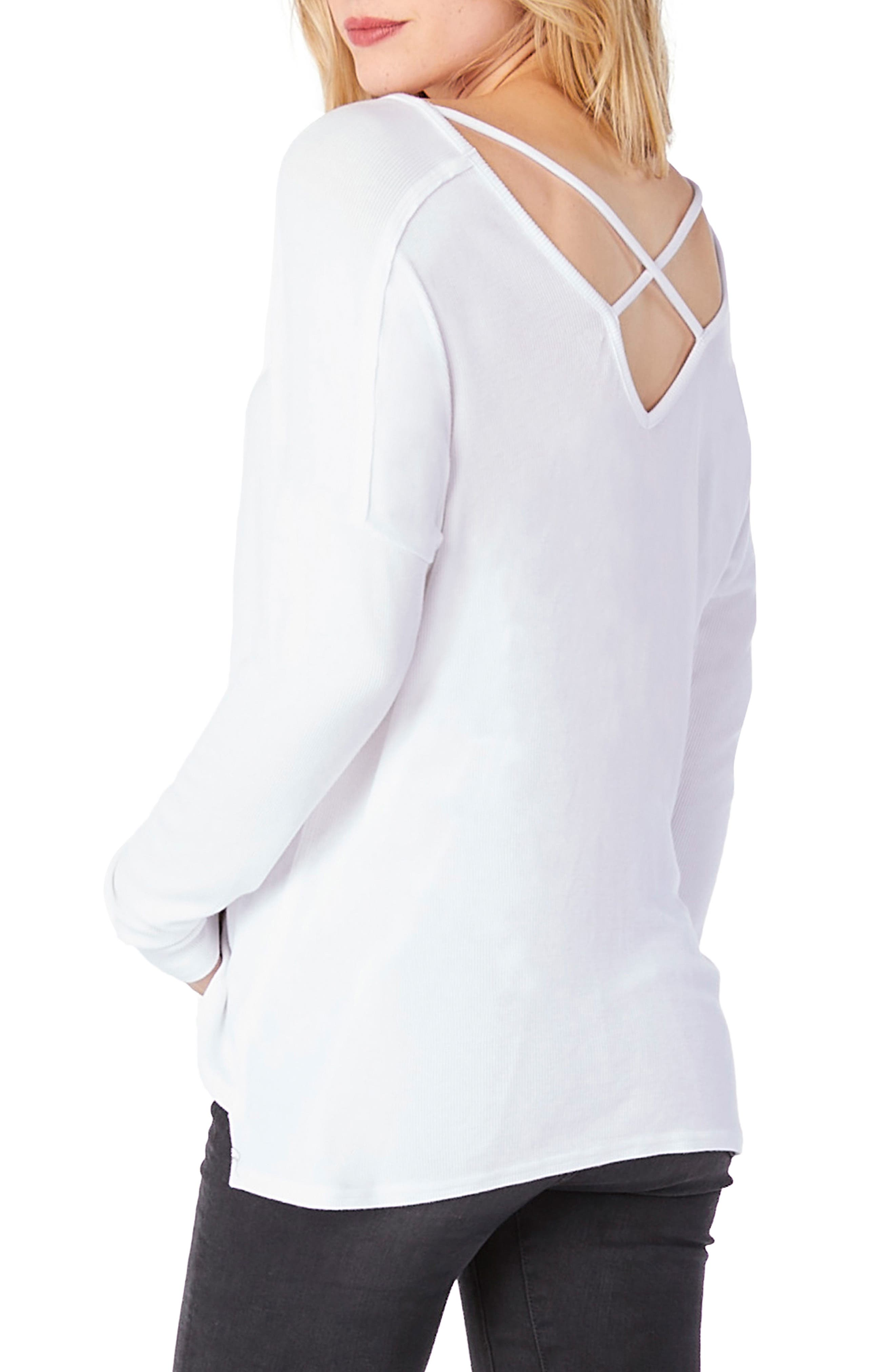 Crisscross Top,                             Alternate thumbnail 4, color,