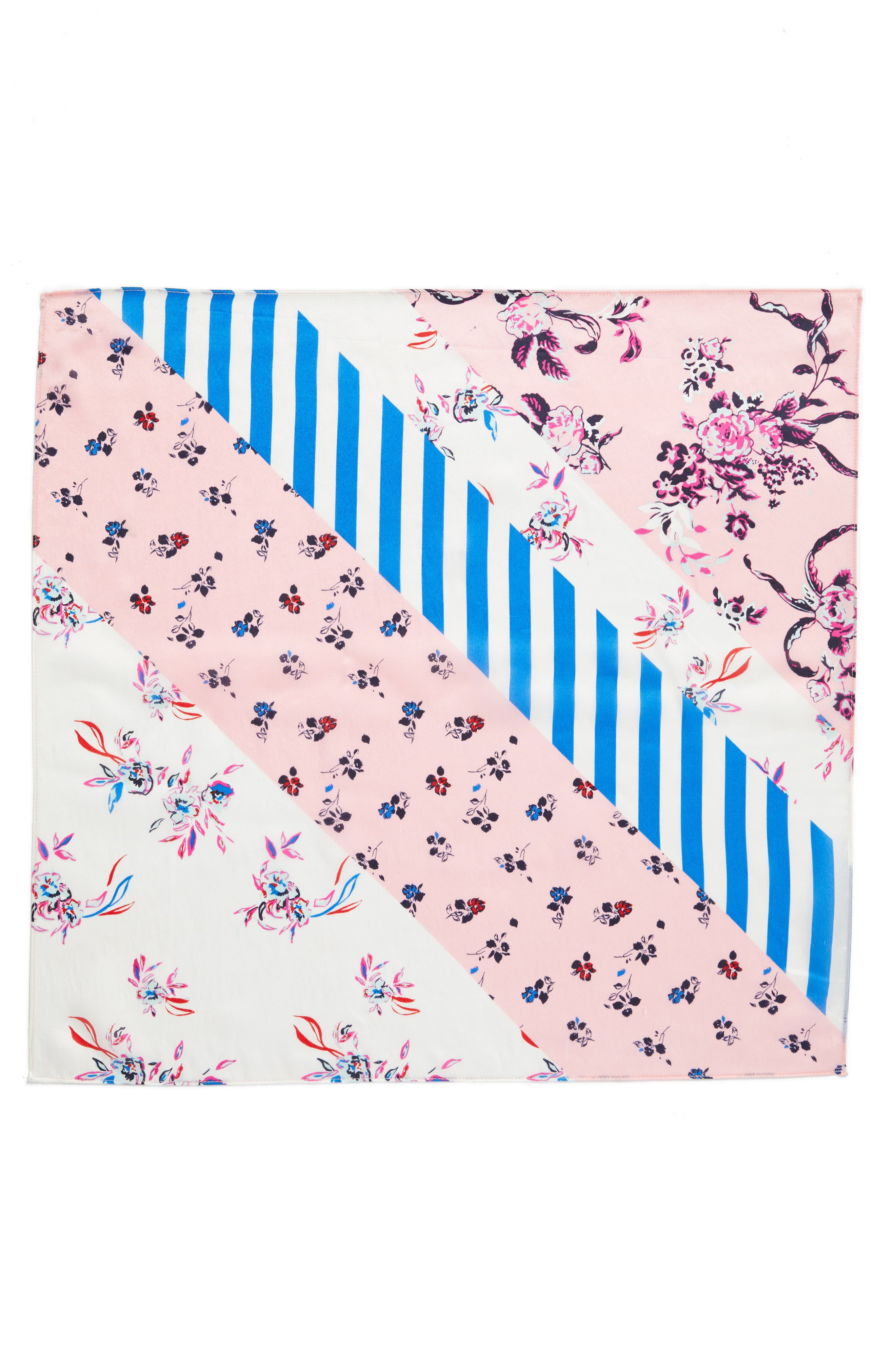 Print Silk Scarf,                             Alternate thumbnail 24, color,