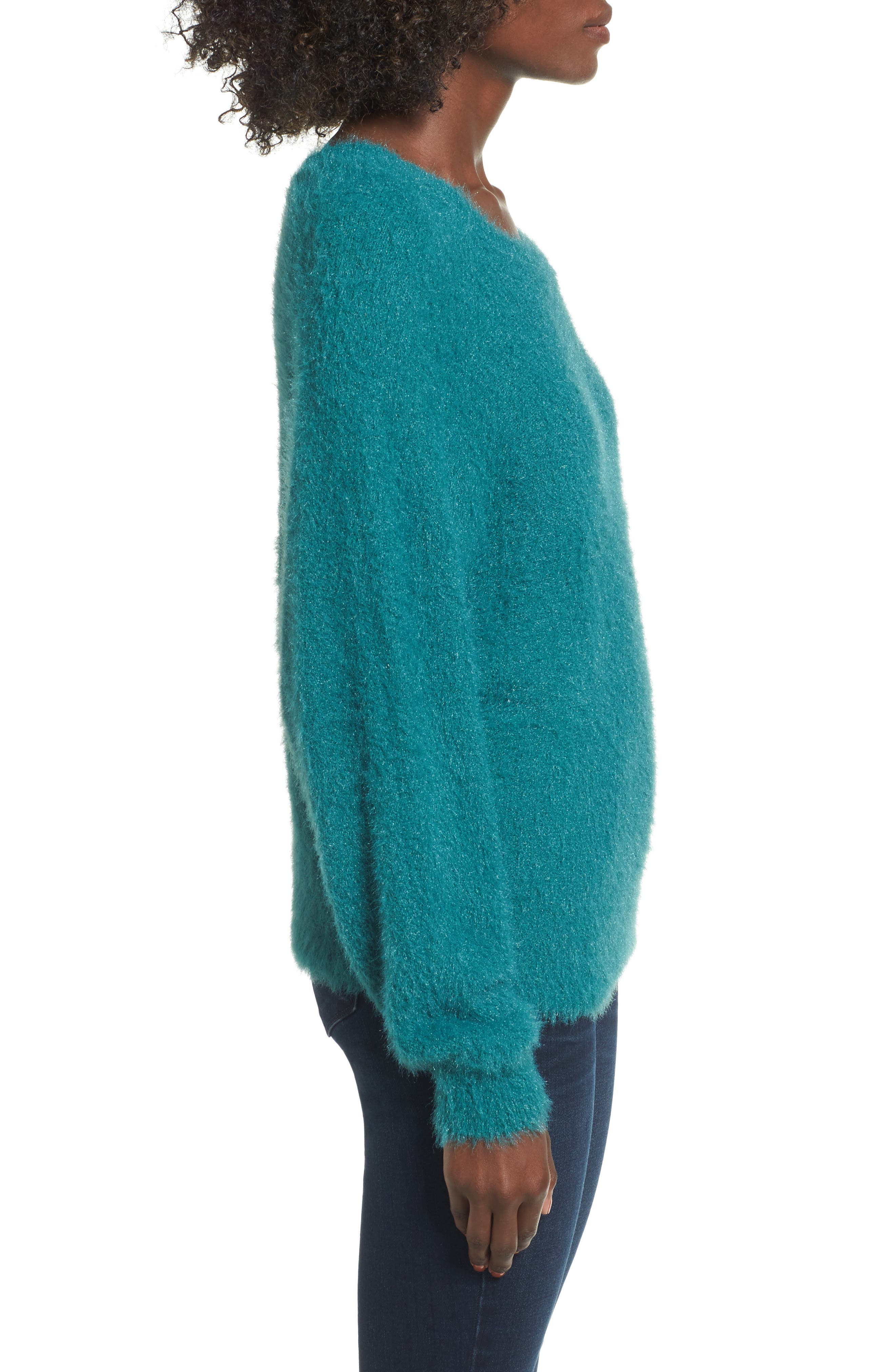 Fluffy Pullover,                             Alternate thumbnail 3, color,                             301
