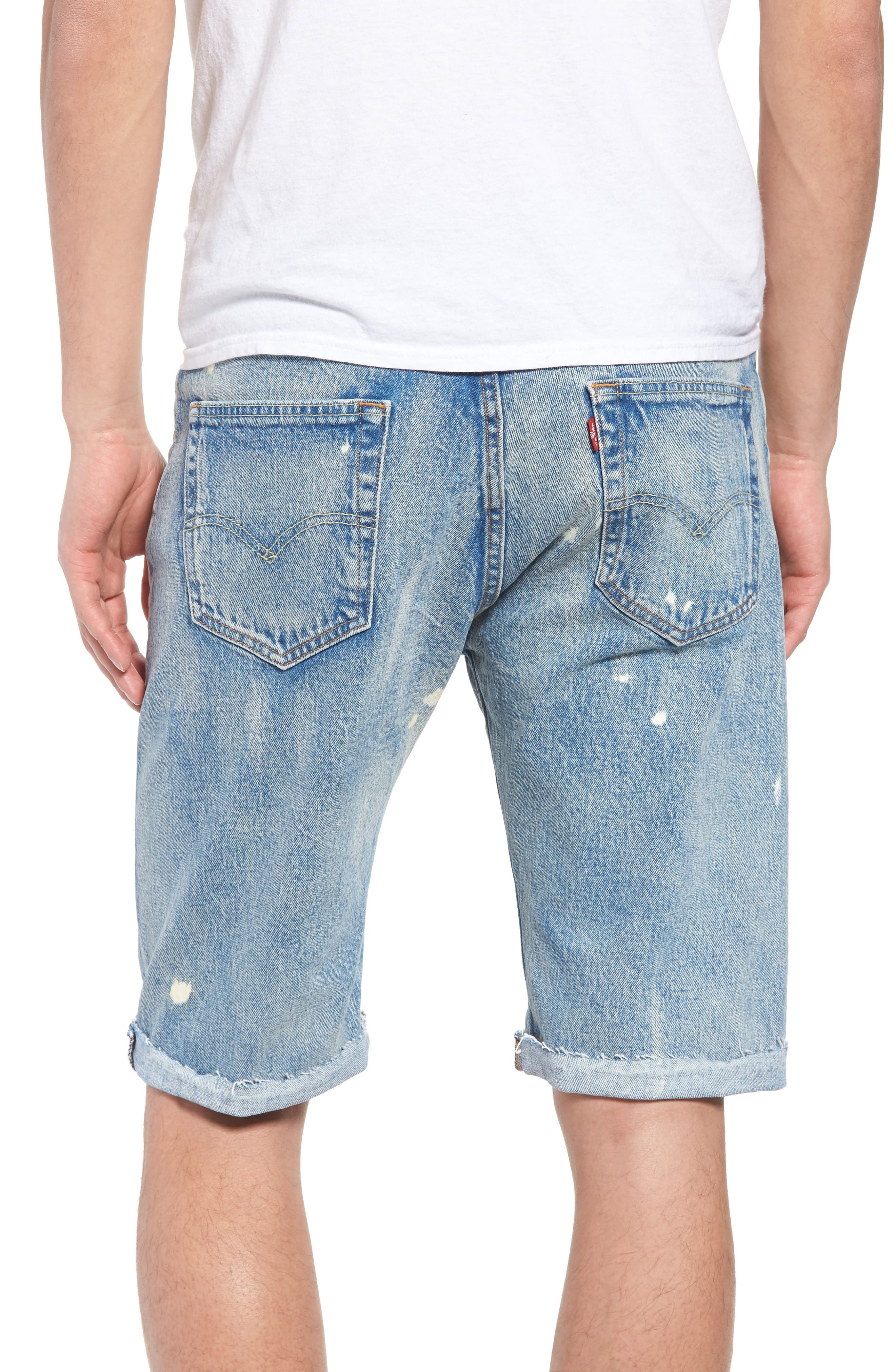 511<sup>™</sup> Slim Fit Cutoff Denim Shorts,                             Alternate thumbnail 2, color,                             420