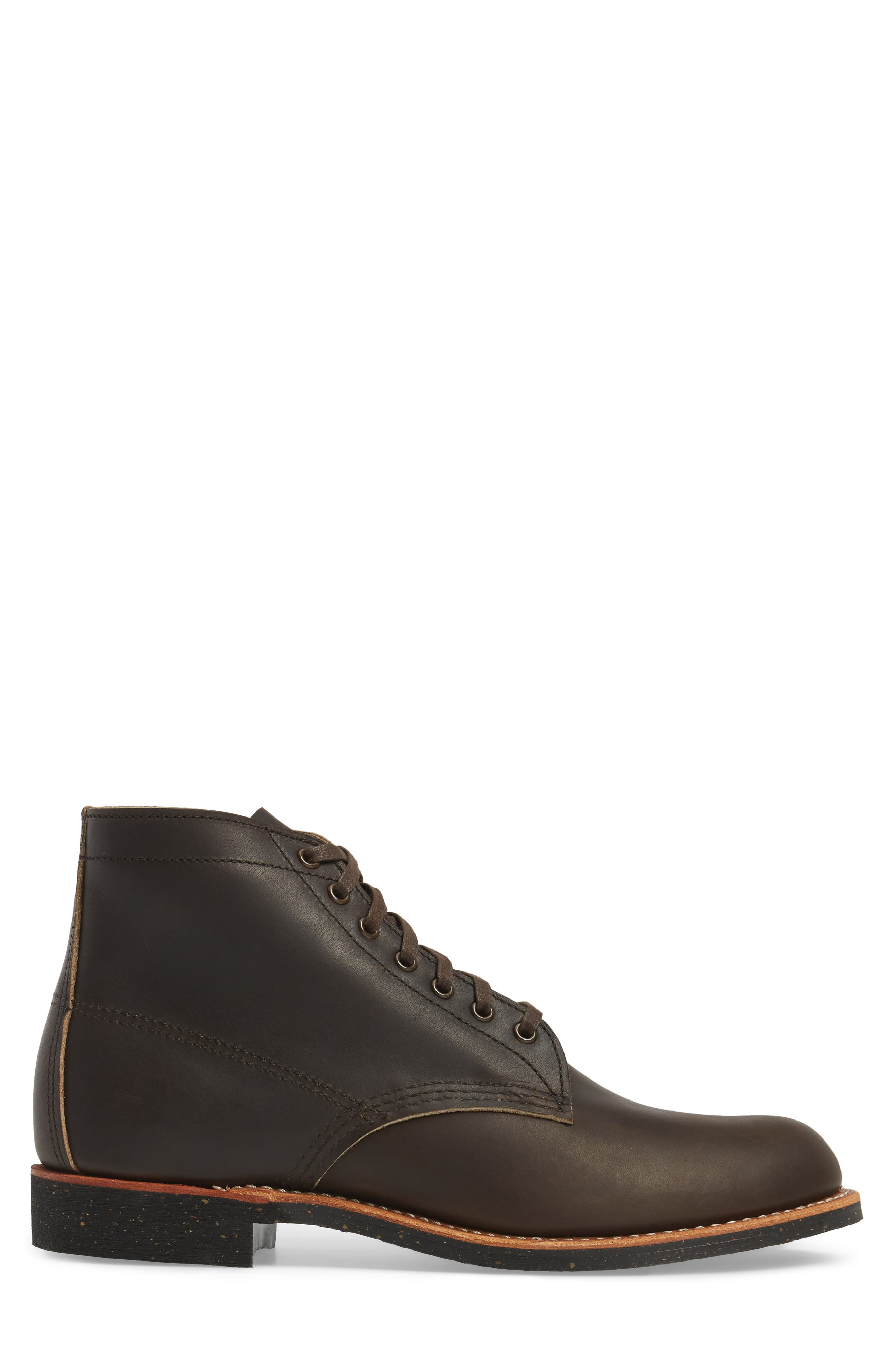 RED WING,                             Merchant Boot,                             Alternate thumbnail 3, color,                             EBONY HARNESS LEATHER