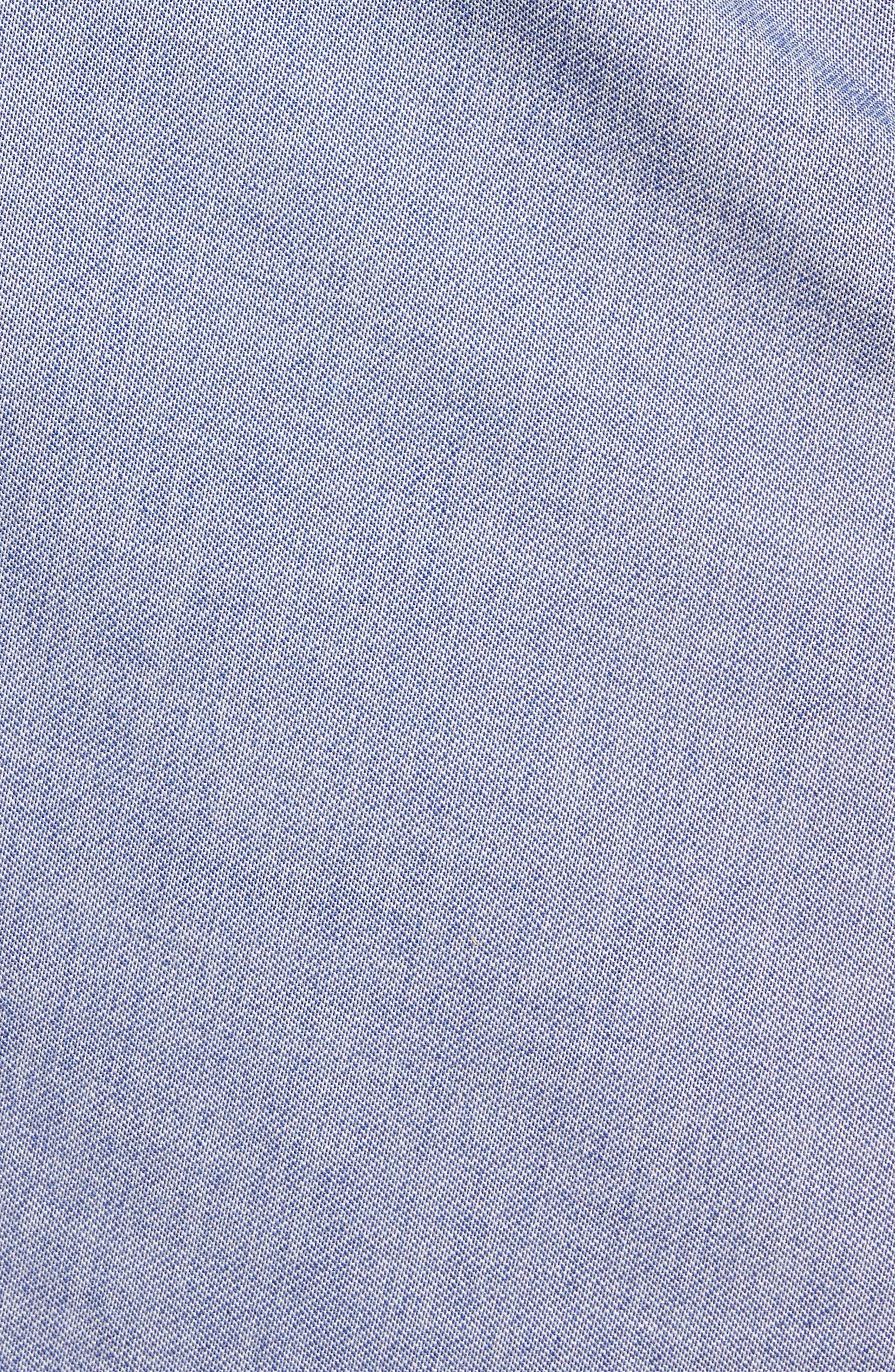 Side Tie Pencil Skirt,                             Alternate thumbnail 5, color,                             400
