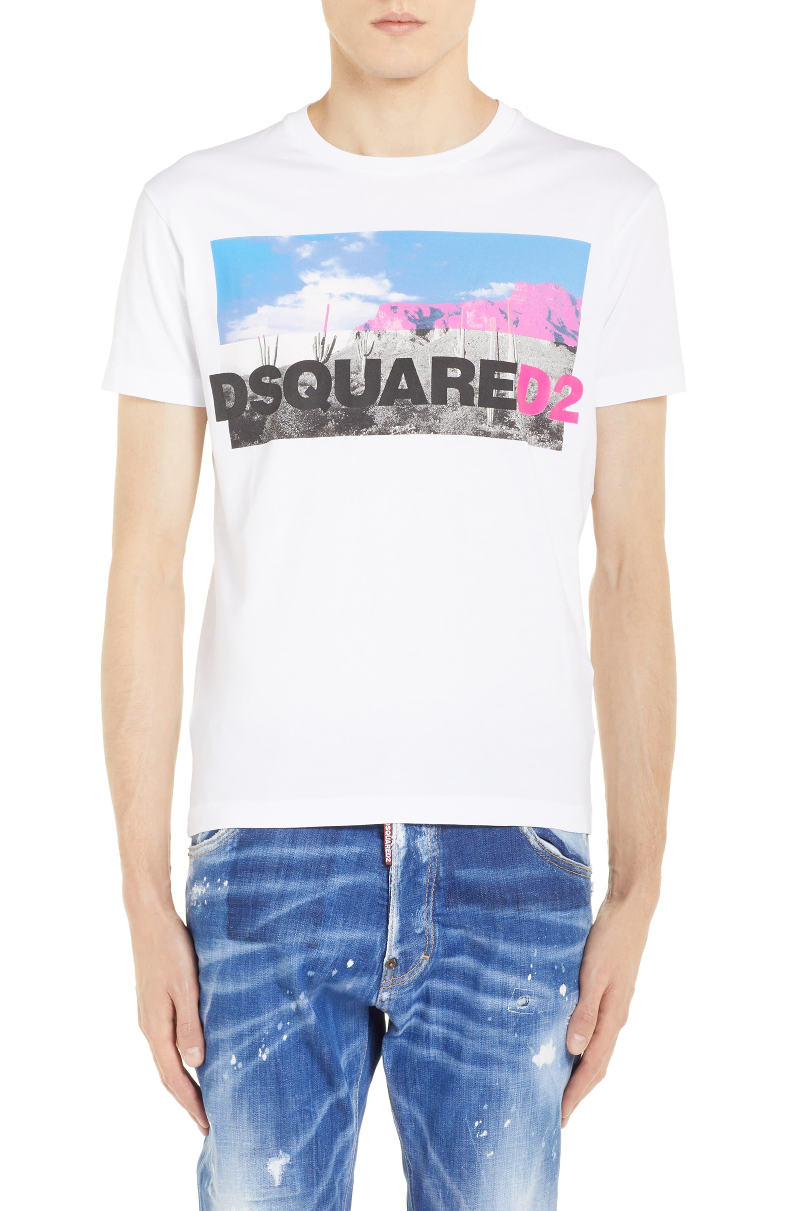Picture Logo Graphic T-Shirt, Main, color, 100