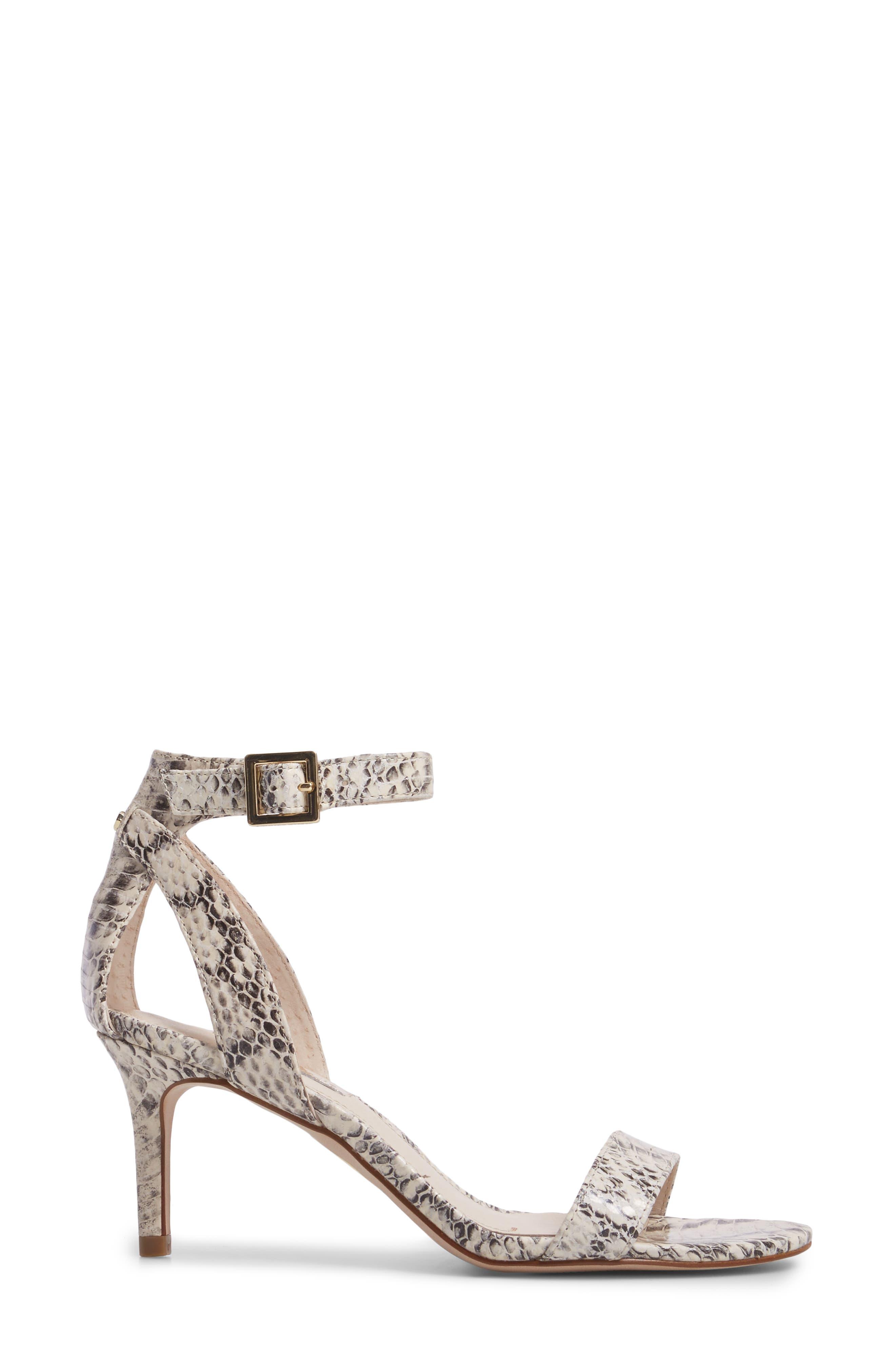 'Hyacinth' Ankle Strap Sandal,                             Alternate thumbnail 3, color,                             110