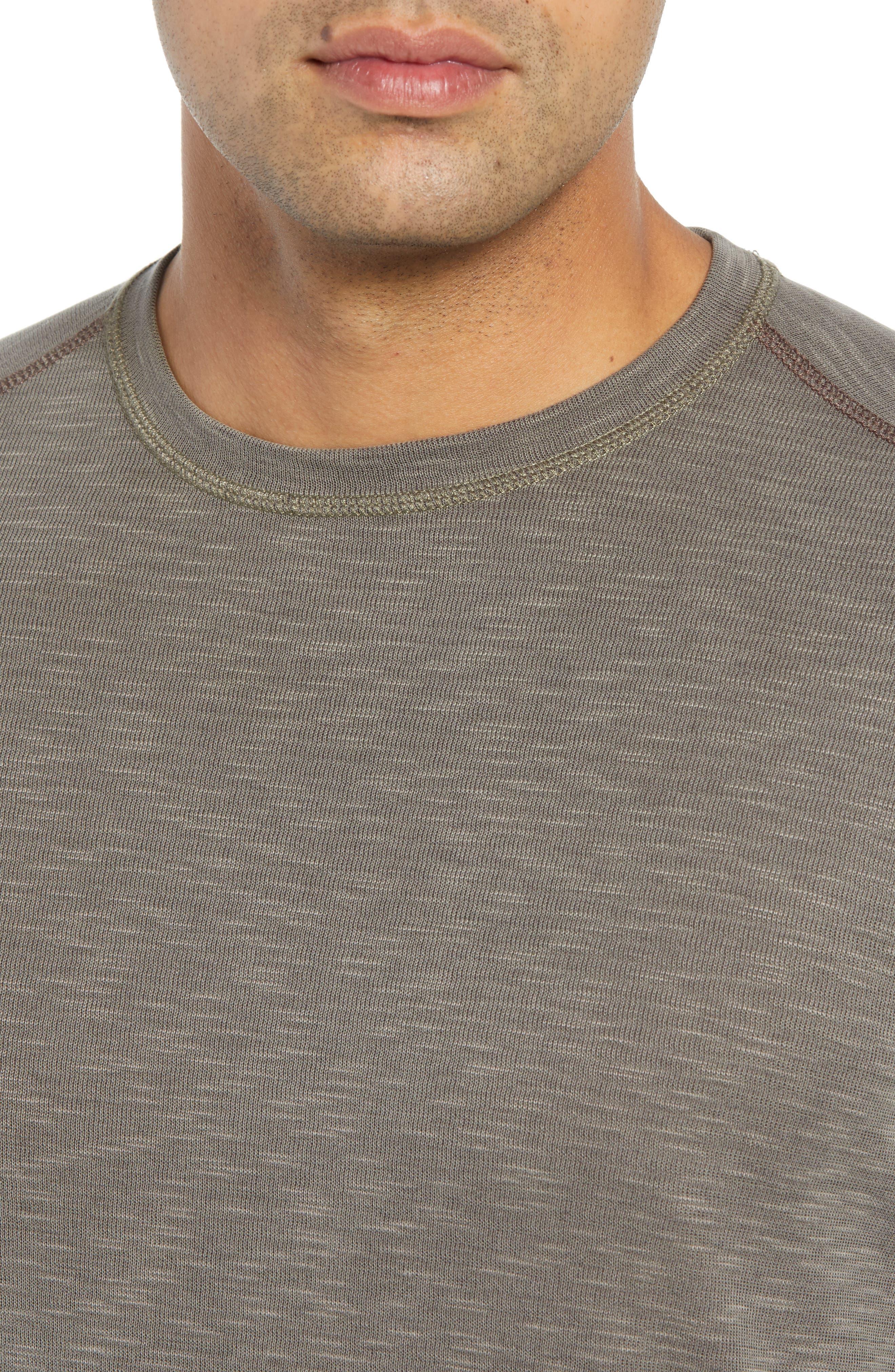 Flip Tide Standard Fit T-Shirt,                             Alternate thumbnail 5, color,                             BITTERSWEET CHOCOLATE