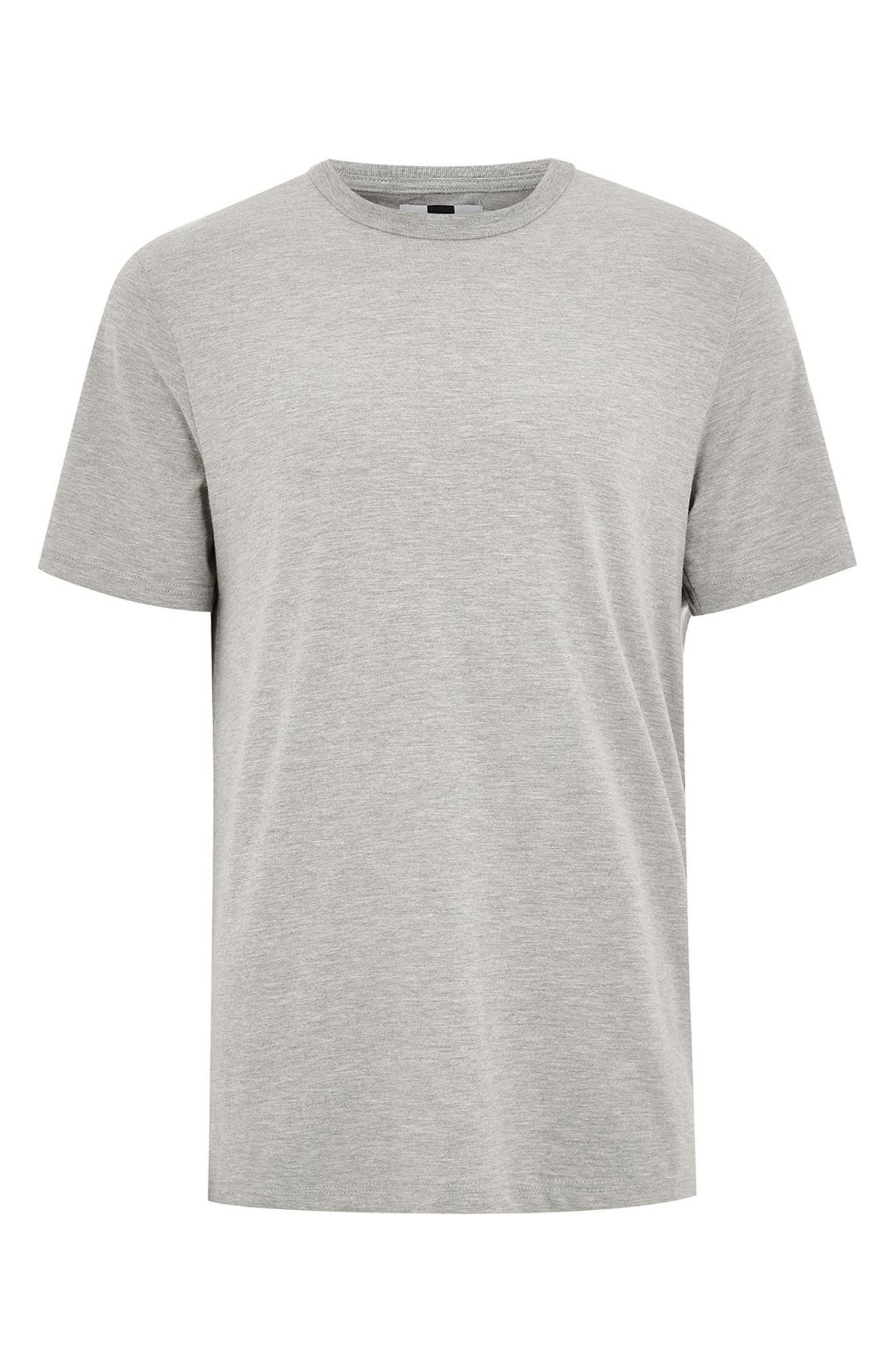 Classic Fit T-Shirt,                             Alternate thumbnail 3, color,                             LIGHT GREY