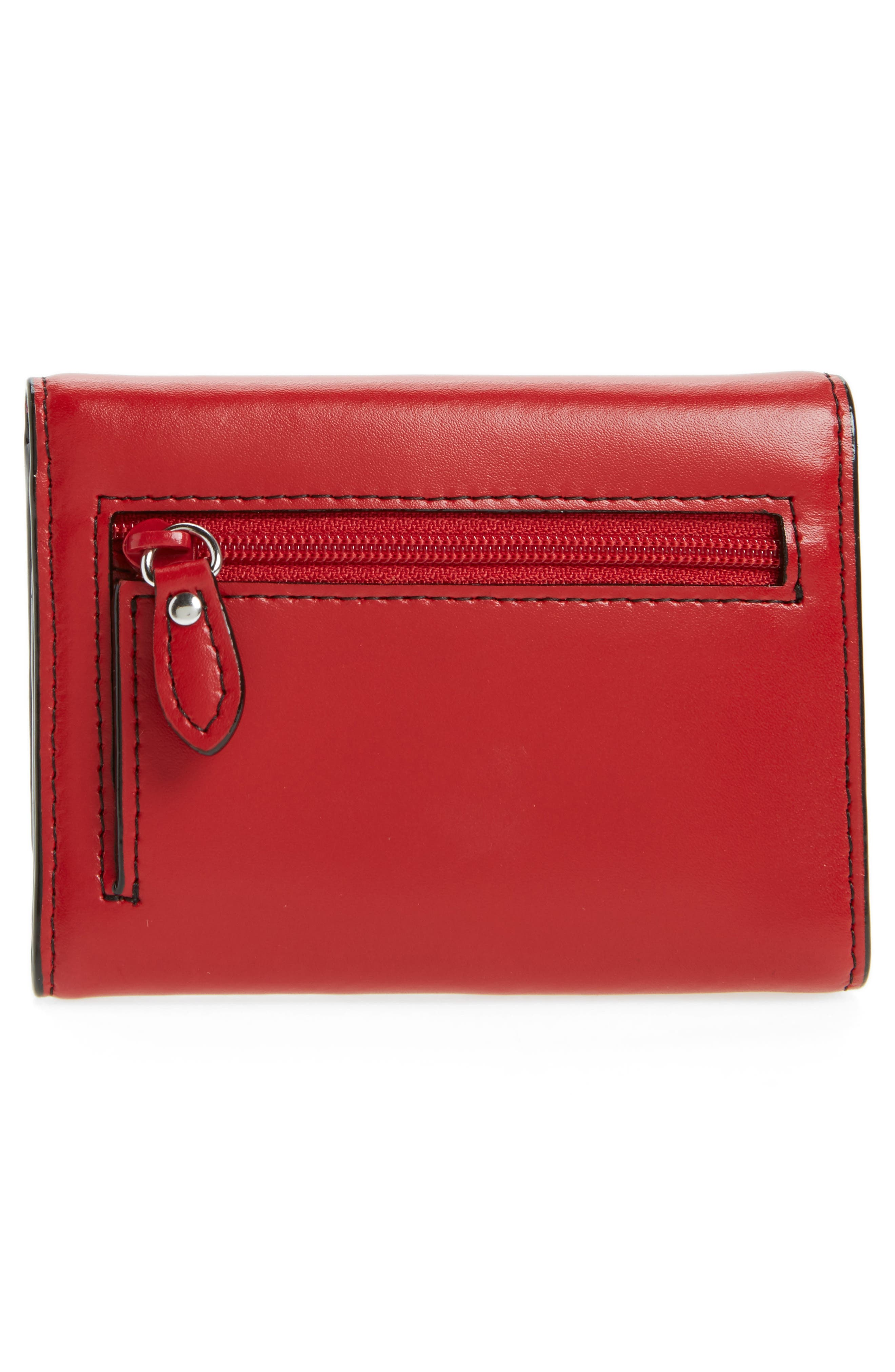 Mallory RFID Leather Wallet,                             Alternate thumbnail 4, color,                             600