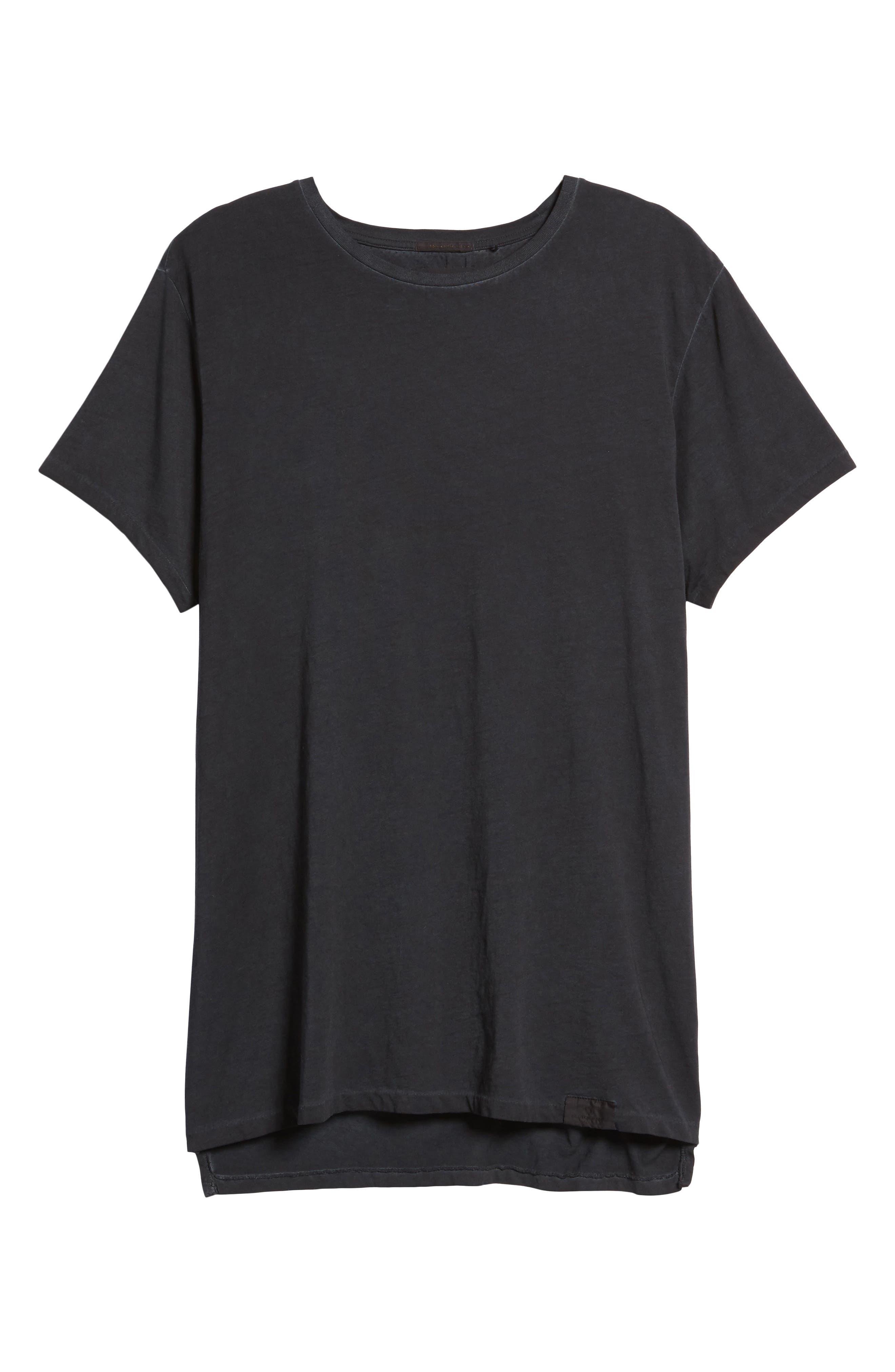 Classic Oil Wash Jersey T-Shirt,                             Alternate thumbnail 6, color,                             010