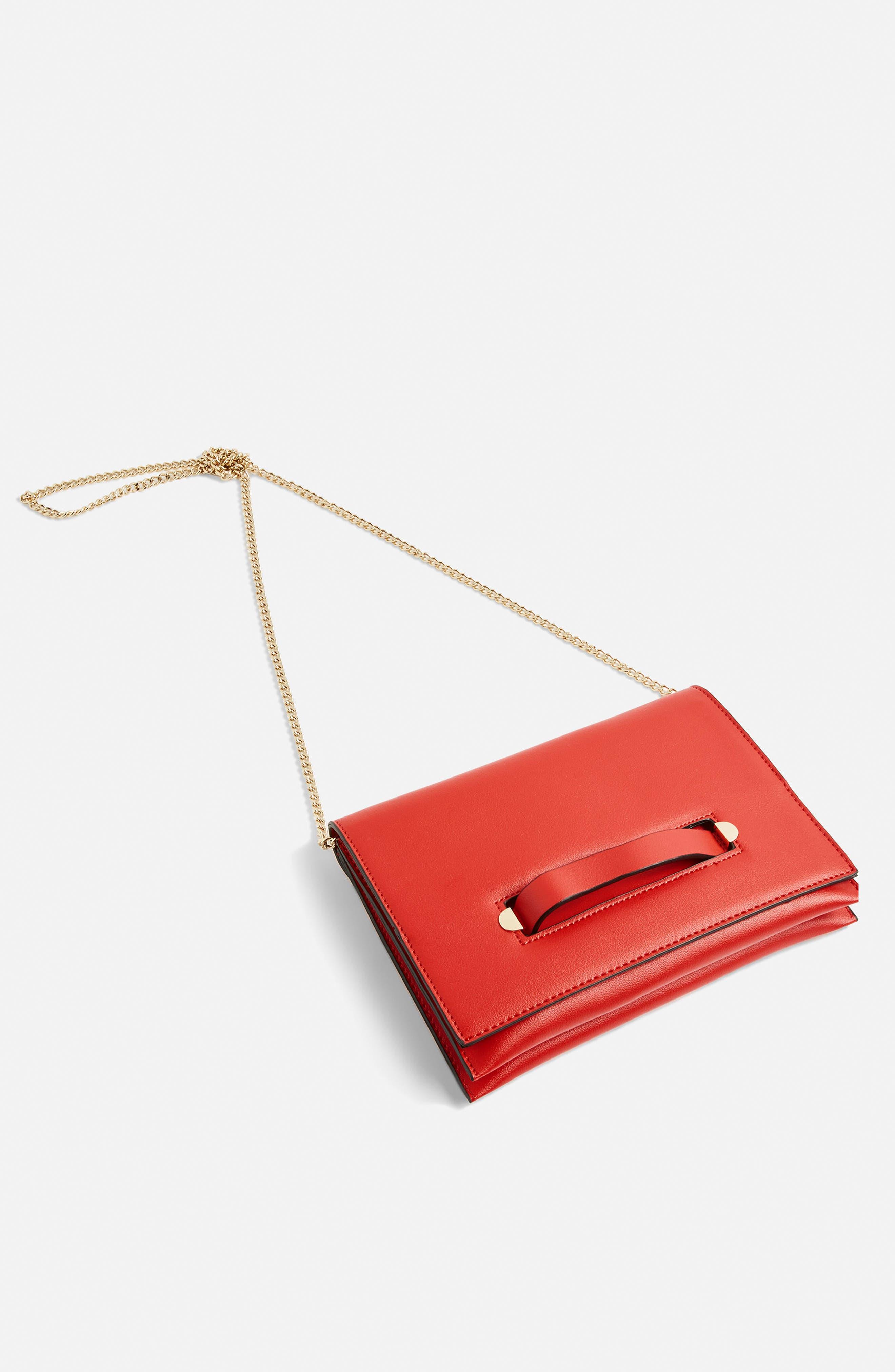 Brogan Tab Chain Clutch Bag,                             Alternate thumbnail 17, color,