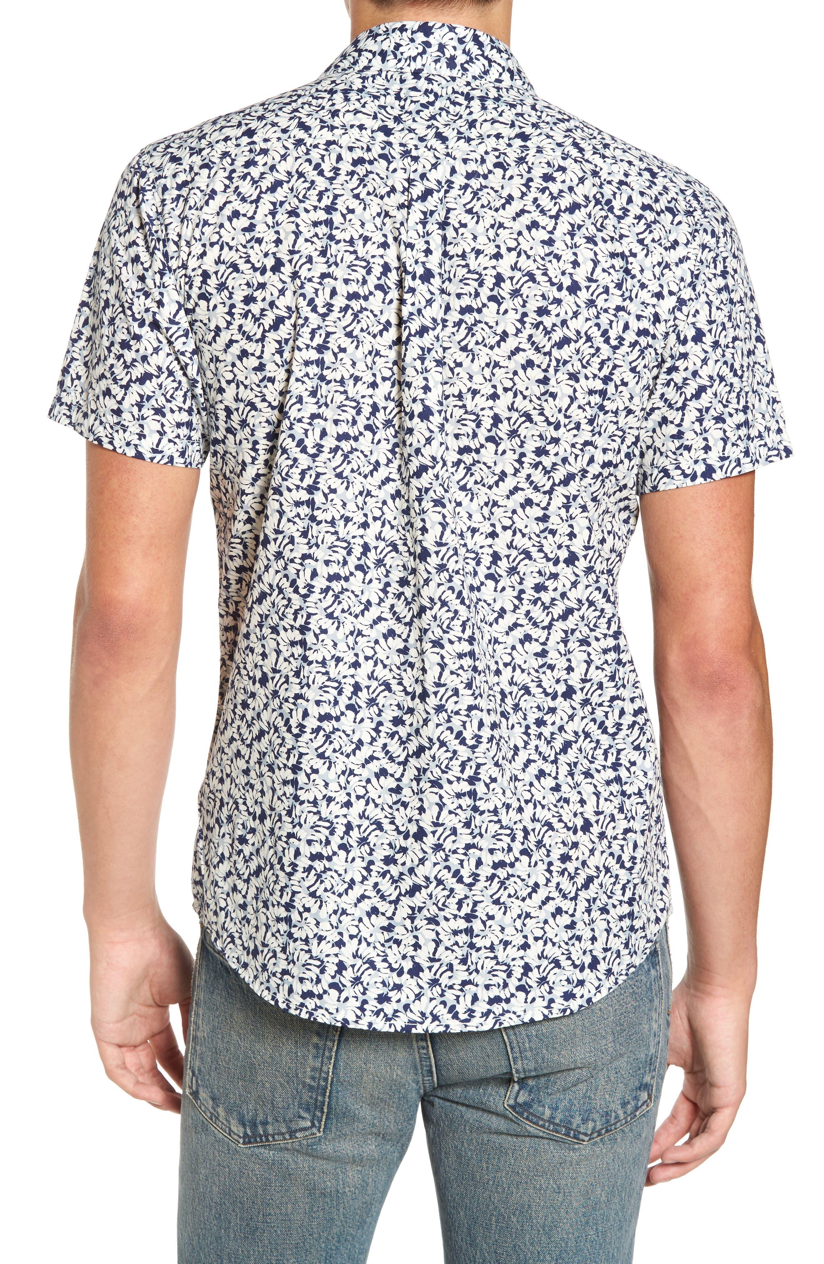 Brong Short Sleeve Shirt,                             Alternate thumbnail 2, color,                             020