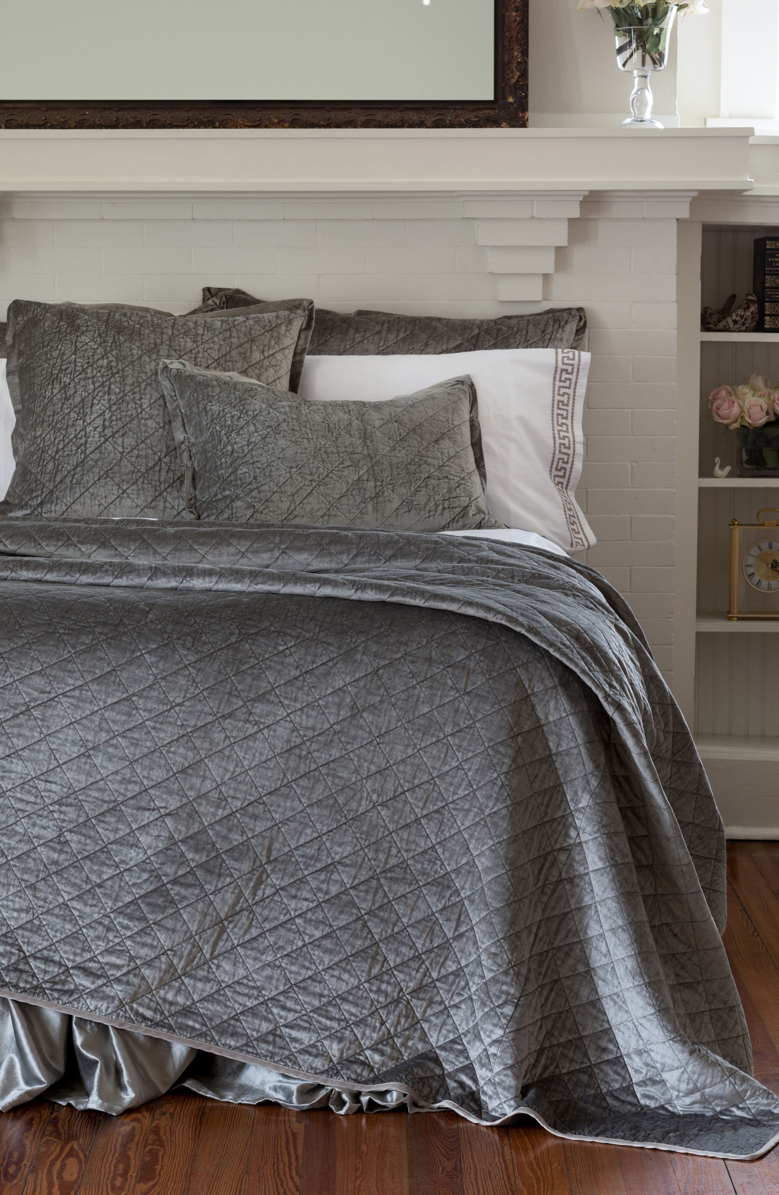 Chloe Quilted Coverlet,                             Main thumbnail 1, color,                             020