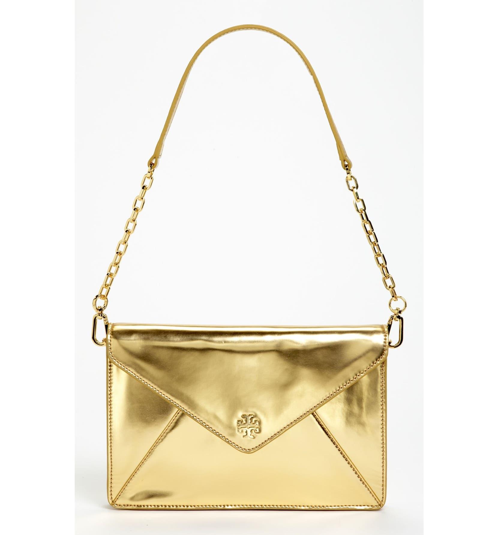e9764a65bc06 Tory Burch  Viva Vachetti - Large  Leather Envelope Clutch