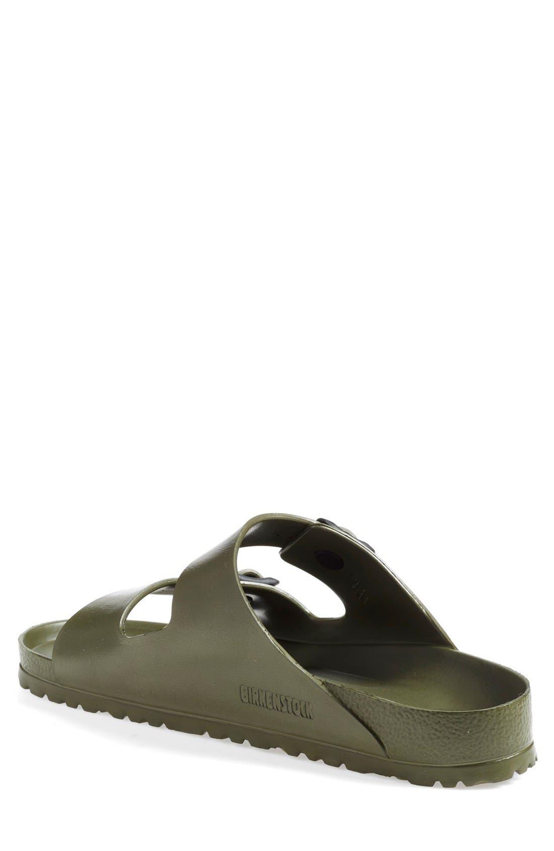 'Essentials - Arizona EVA' Waterproof Slide Sandal,                             Alternate thumbnail 8, color,                             GREEN