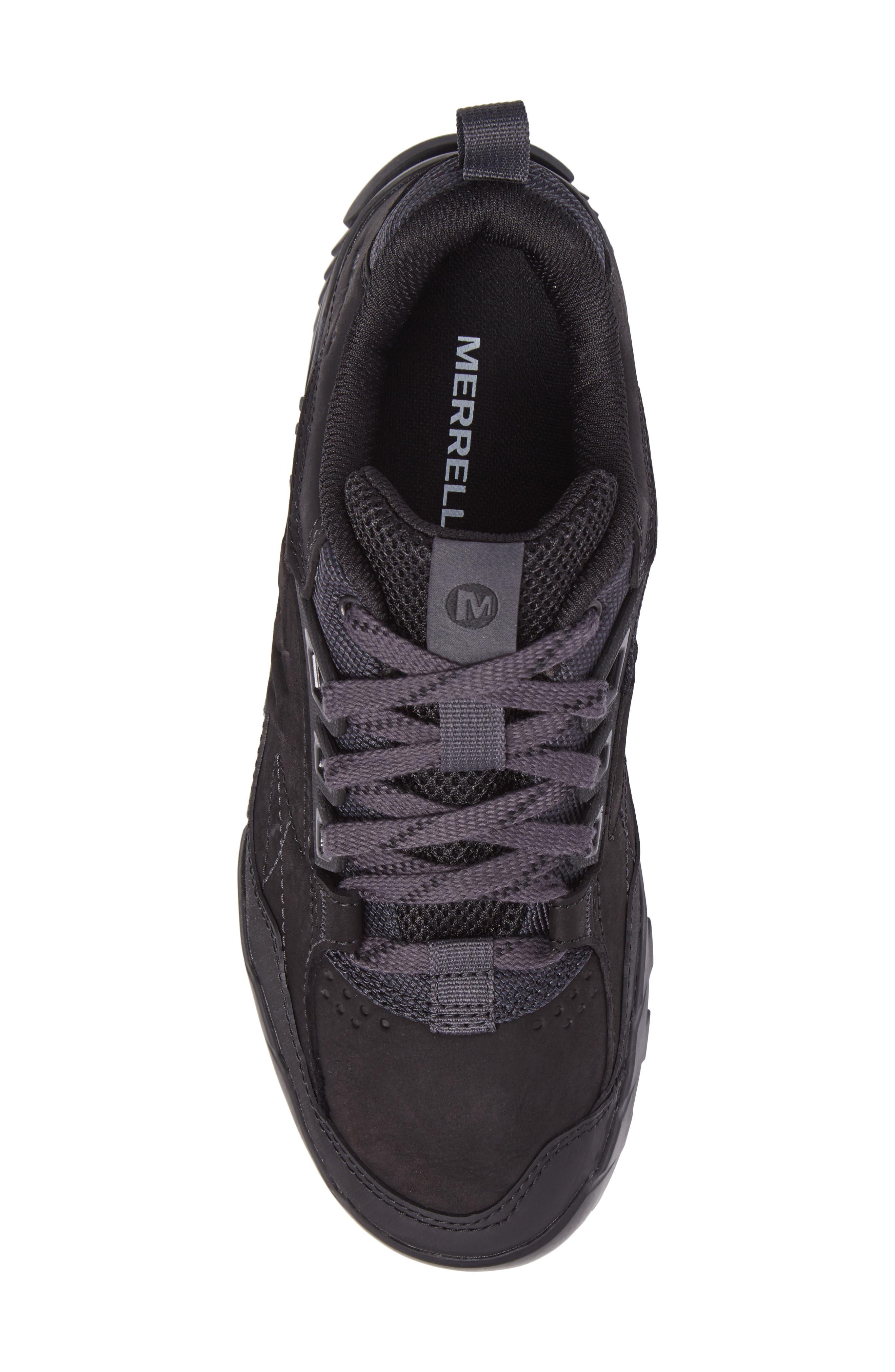 Annex Tak Low Hiking Shoe,                             Alternate thumbnail 5, color,                             BLACK NUBUCK LEATHER