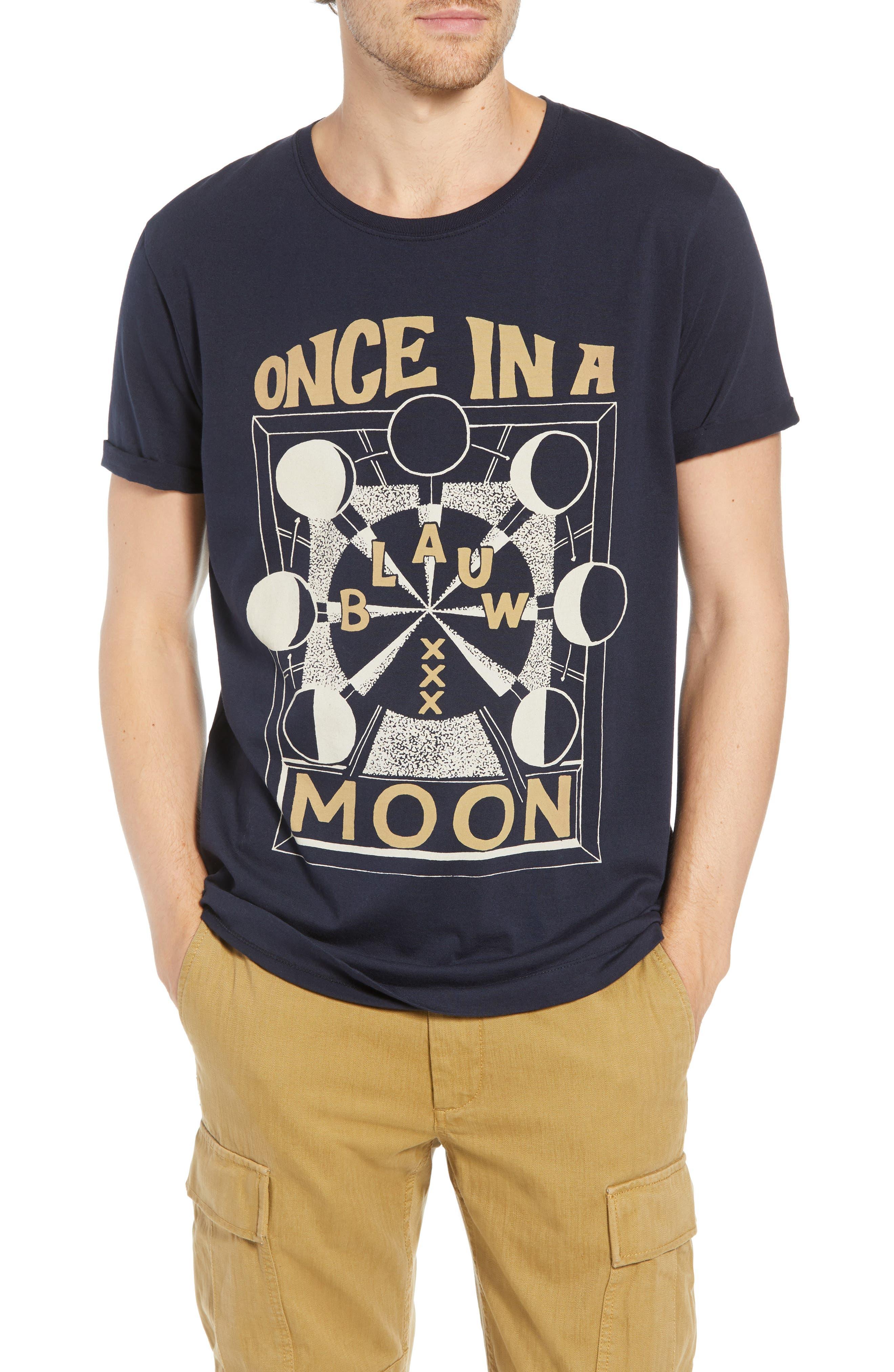 Text Artwork T-Shirt,                             Main thumbnail 1, color,                             NAVY