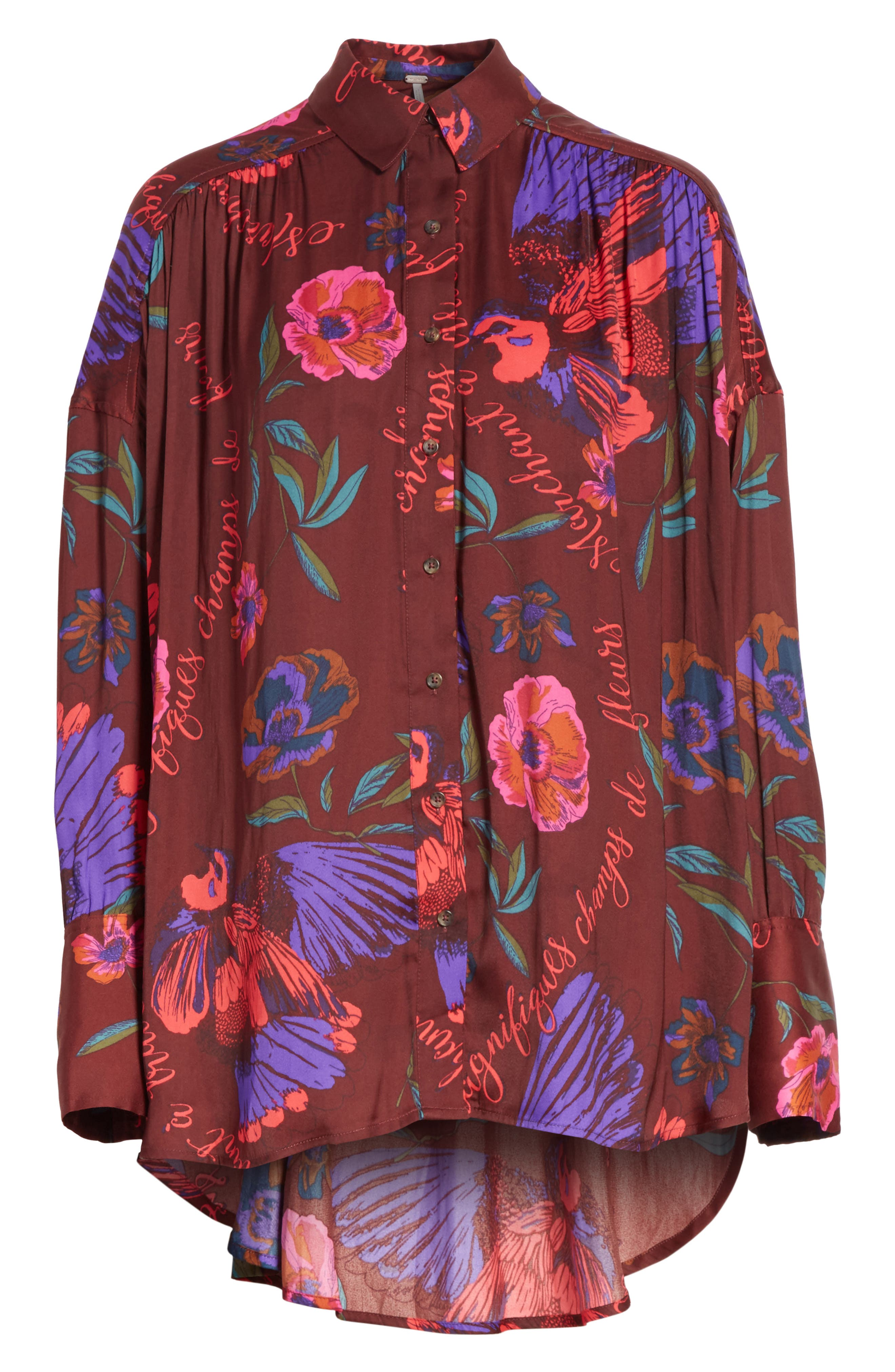 Silky Nights Blouse,                             Alternate thumbnail 18, color,