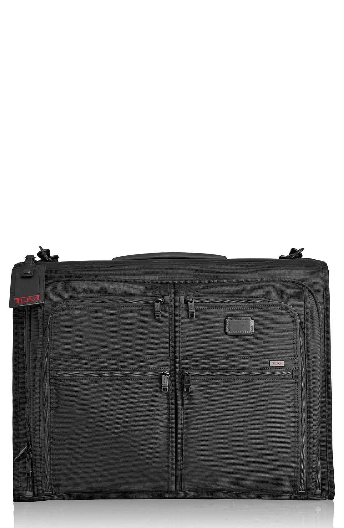 TUMI,                             Alpha 2 Classic Garment Bag,                             Main thumbnail 1, color,                             001