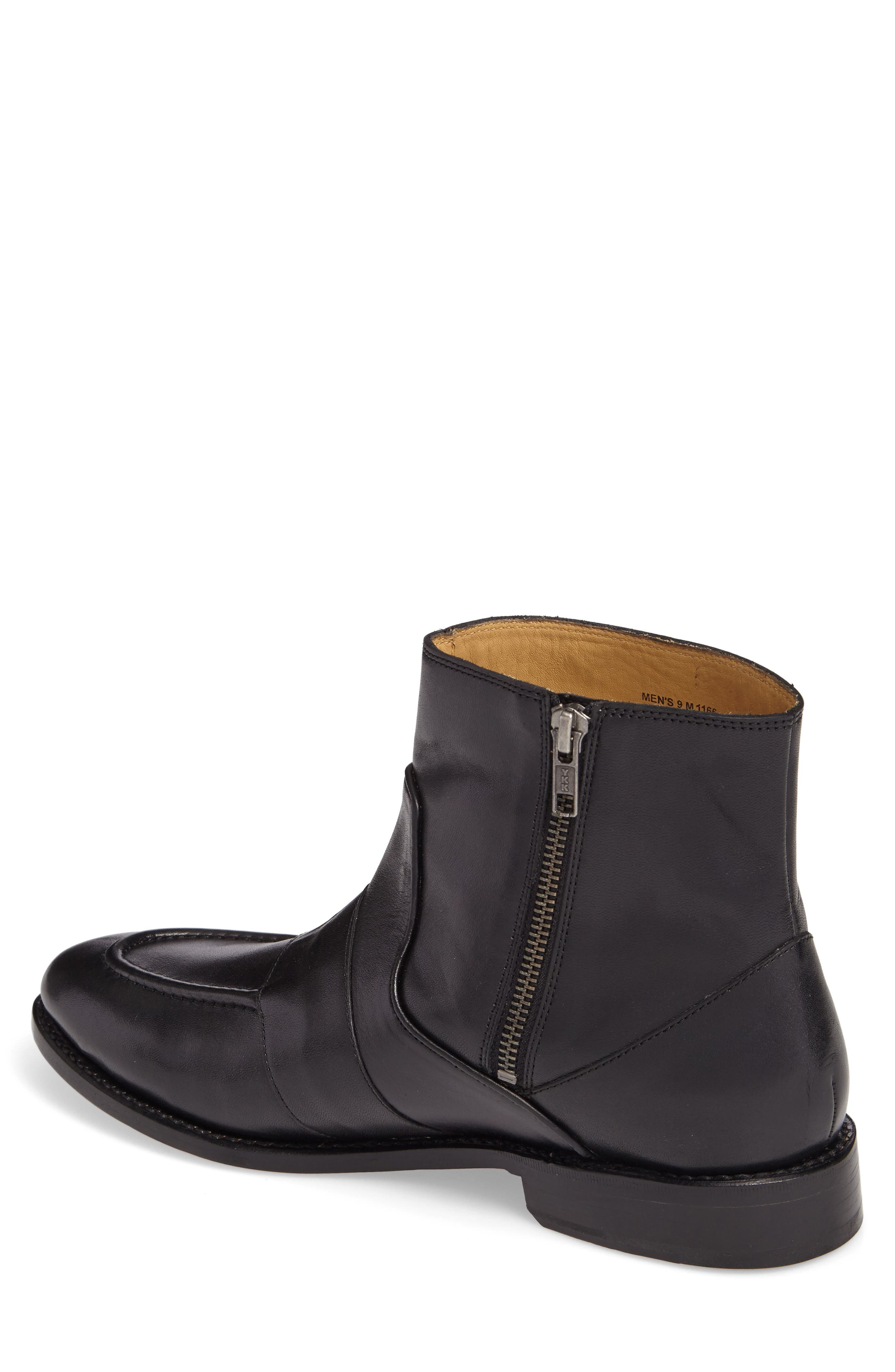 MICHAEL BASTIAN,                             Sidney Zip Boot,                             Alternate thumbnail 2, color,                             011