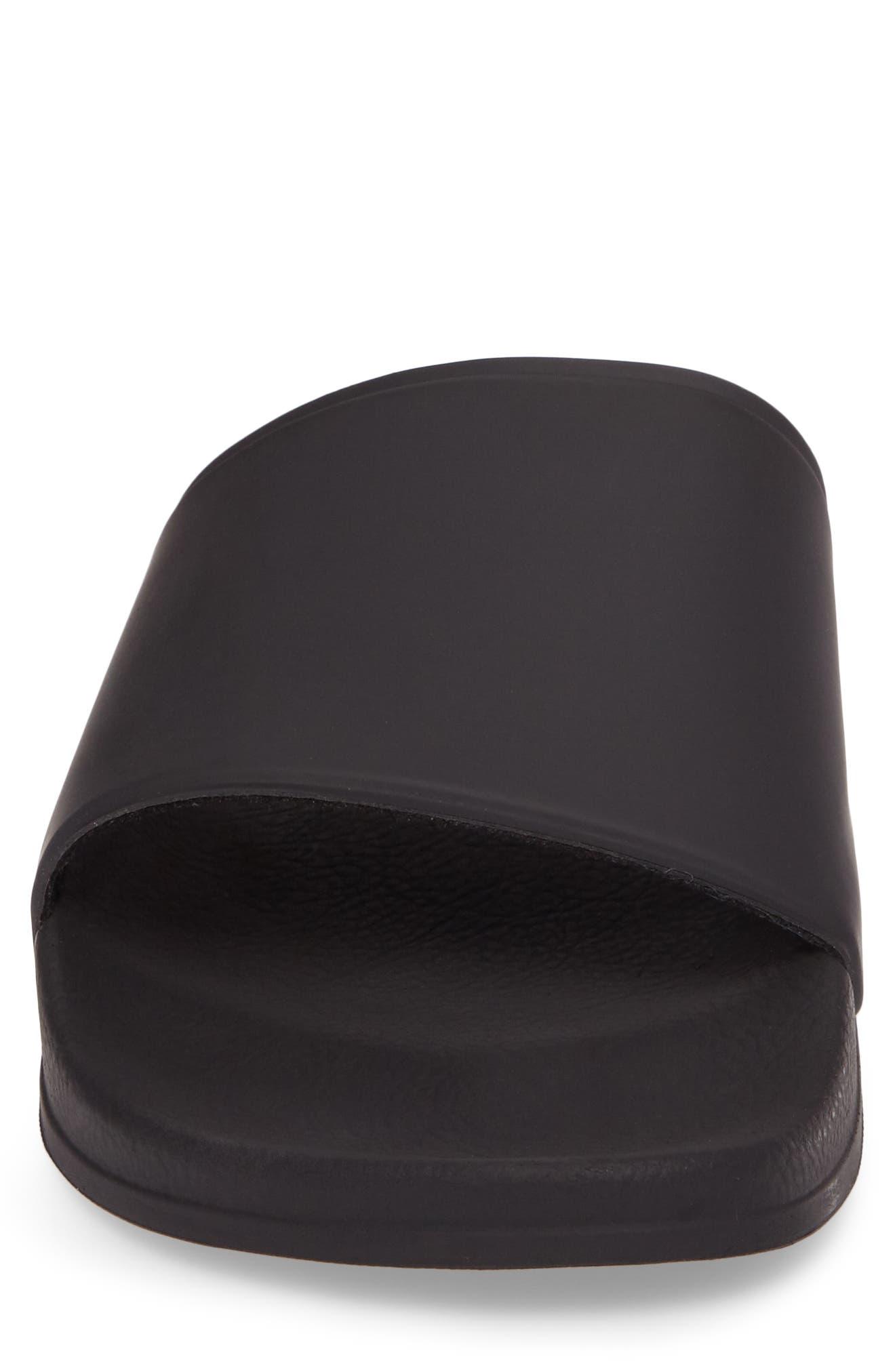 Bondi Slide Sandal,                             Alternate thumbnail 4, color,                             BLACK