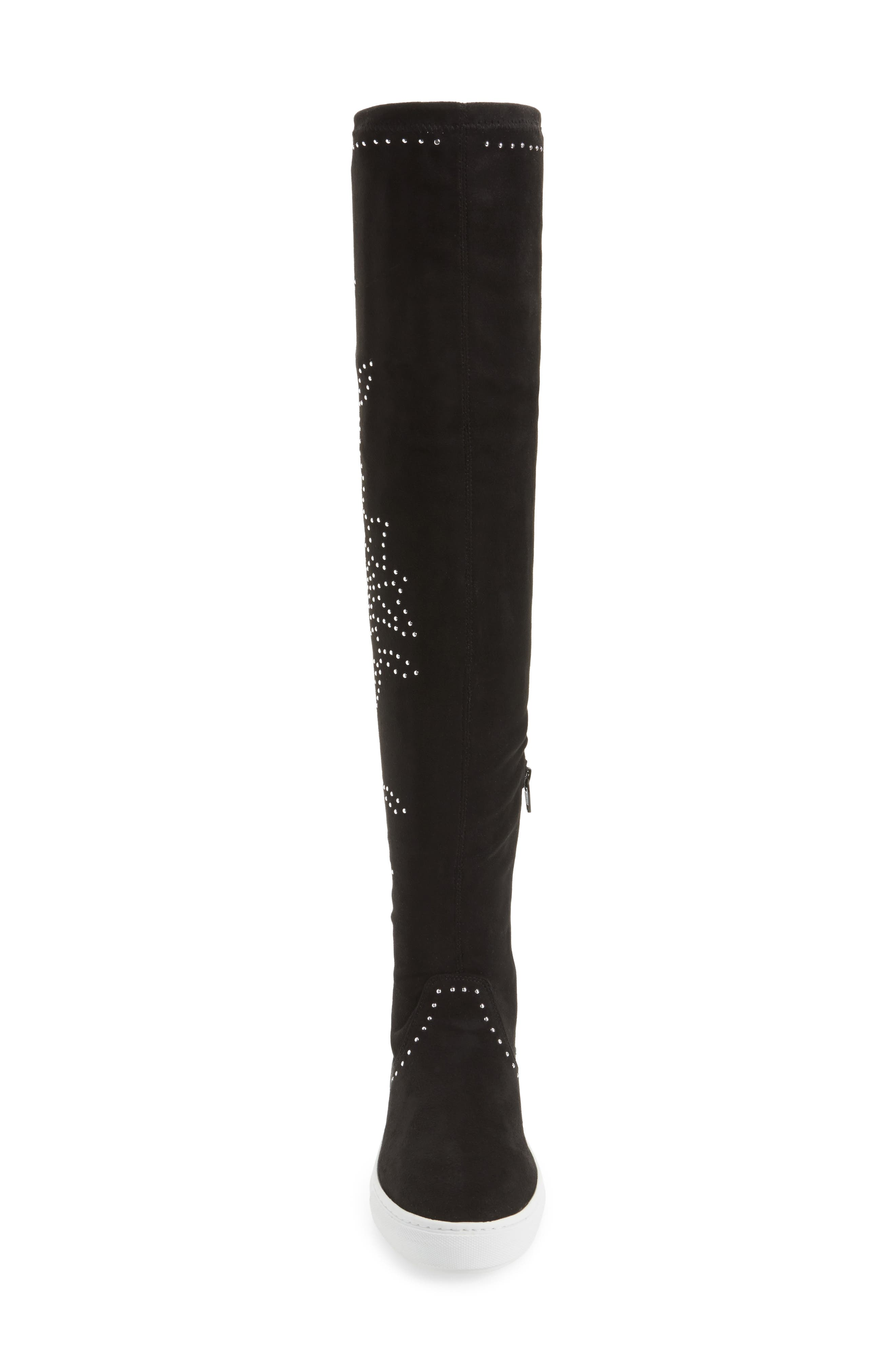 Plentee Over the Knee Boot,                             Alternate thumbnail 4, color,                             001