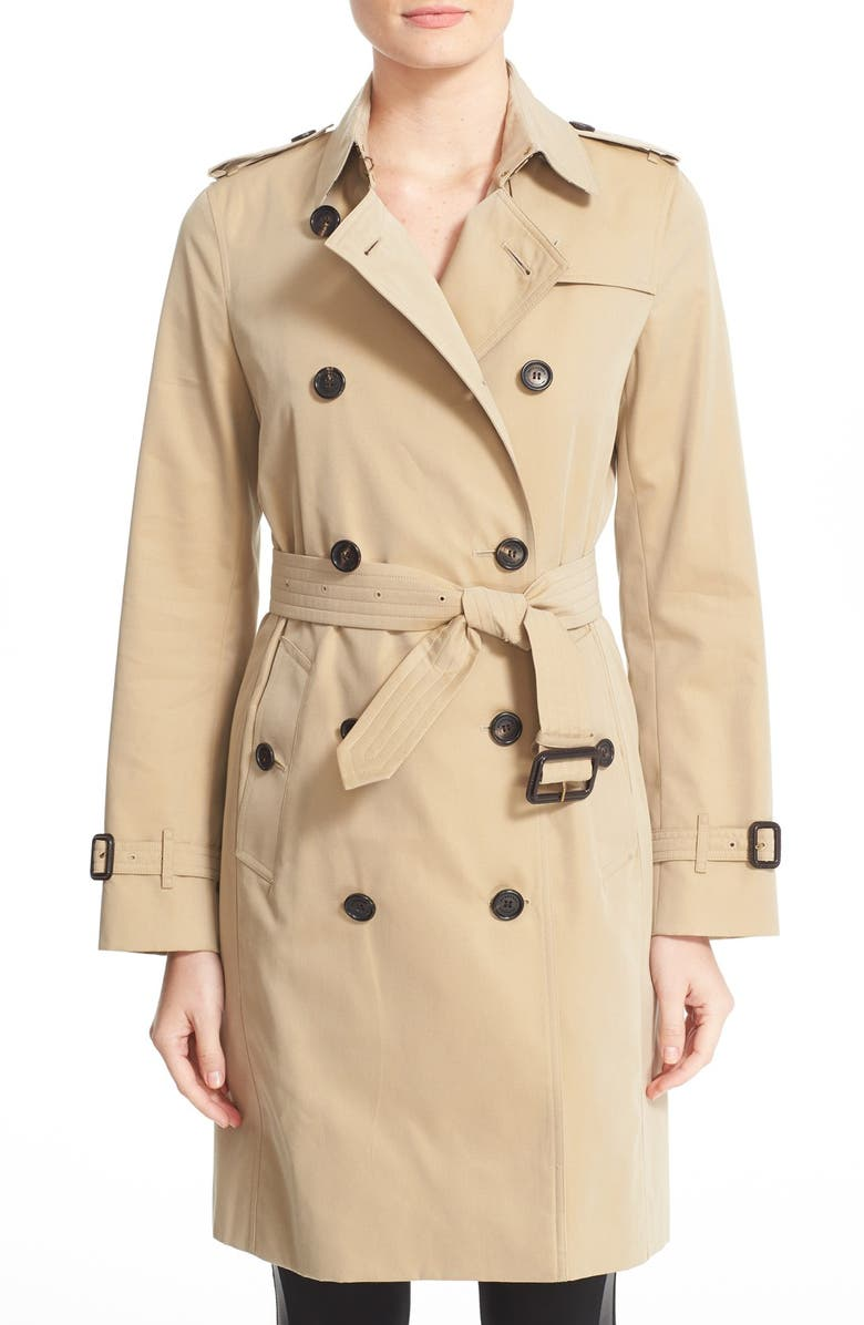 Burberry Kensington Long Trench Coat   Nordstrom 8068a3f0129