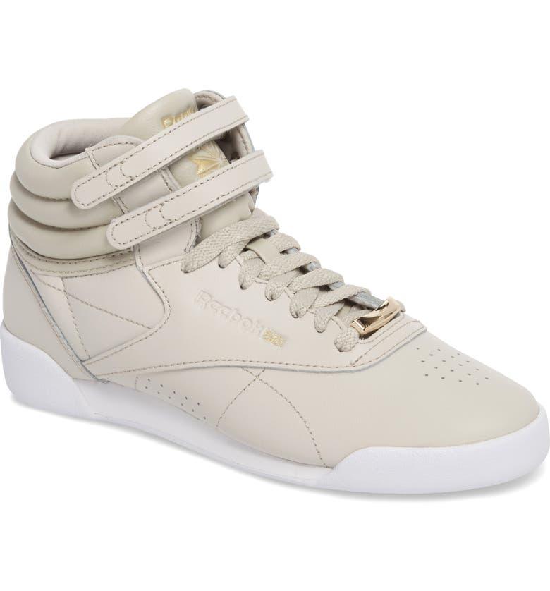 Reebok Freestyle Hi Muted Sneaker (Baby 81f54caae