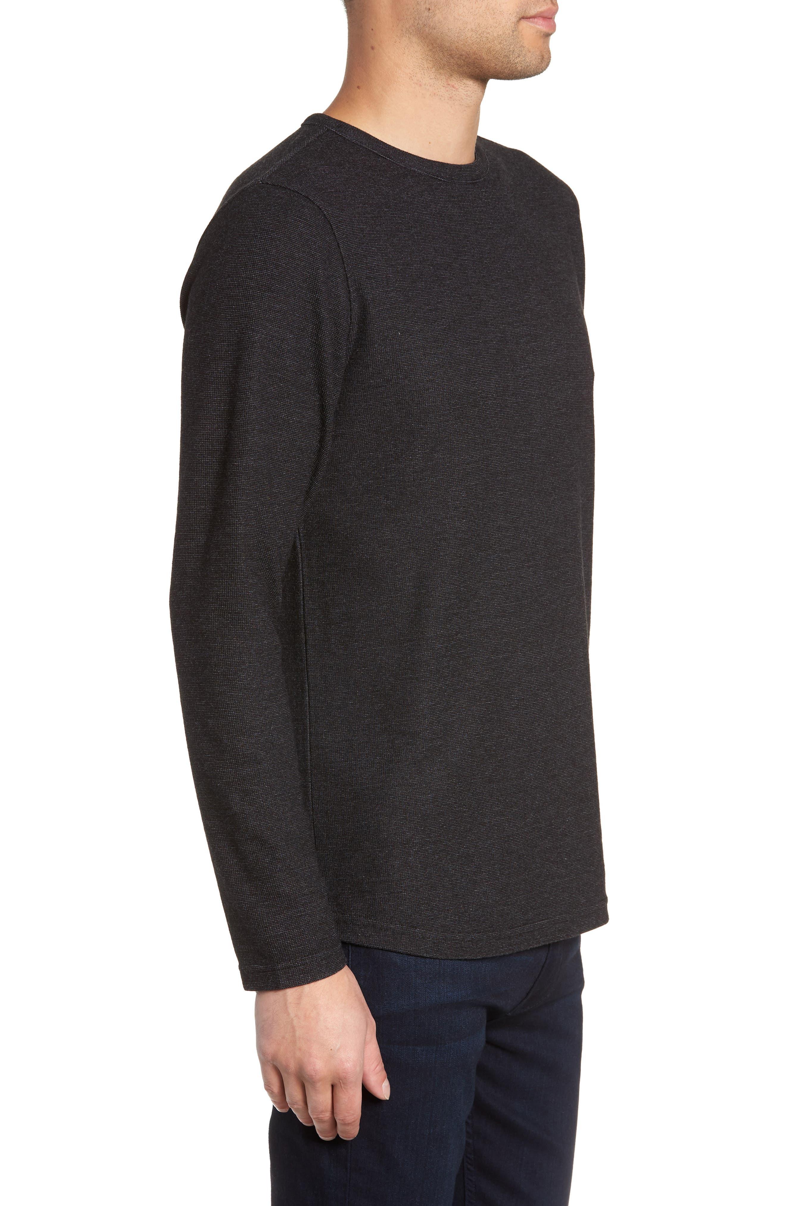 Trim Fit Clean Line Shirt,                             Alternate thumbnail 3, color,                             001